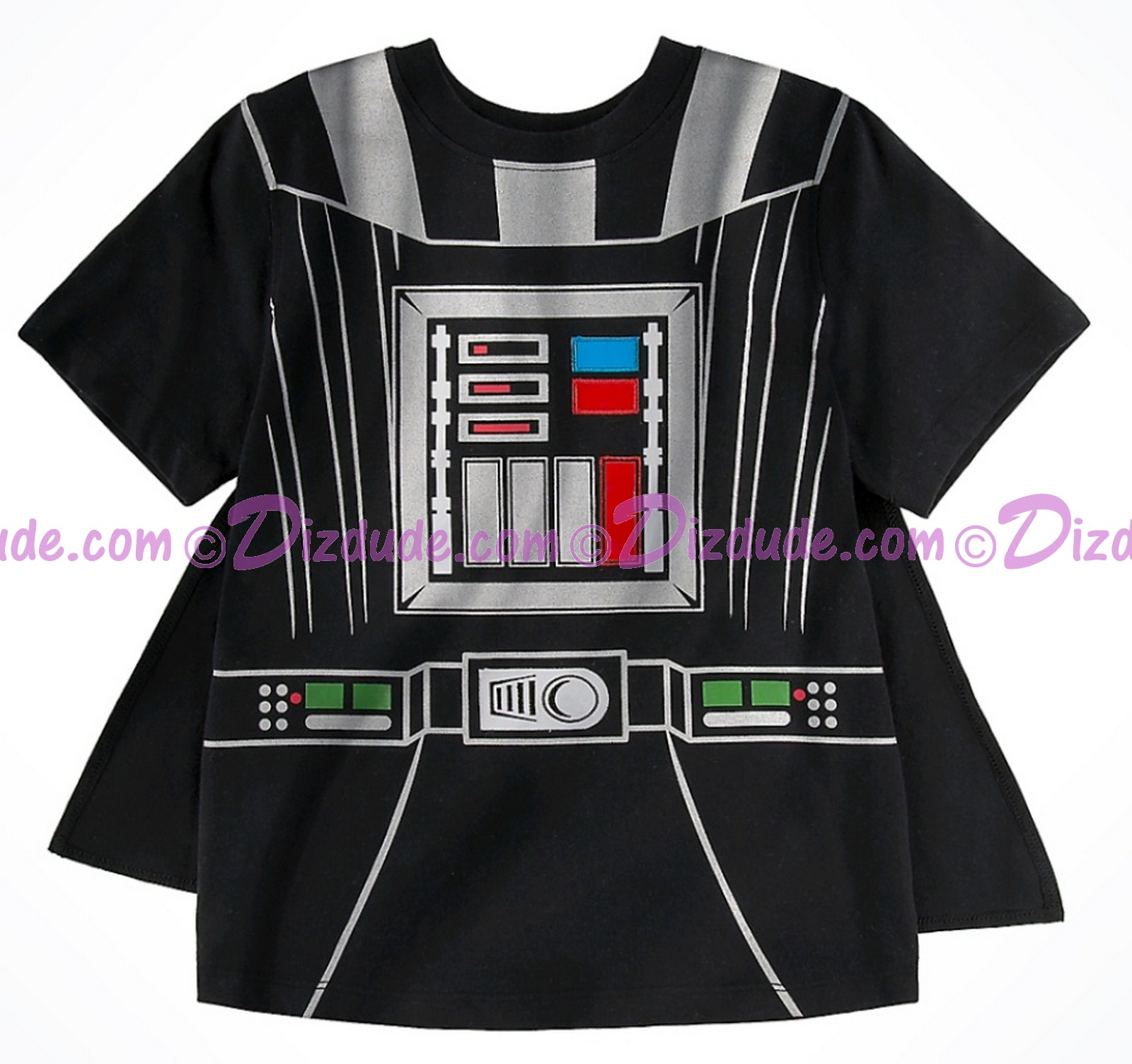 Darth Vader with Cape Costume Youth T-Shirt (Tshirt, T shirt or Tee) ~ Disney SOLO A Star Wars Story © Dizdude.com