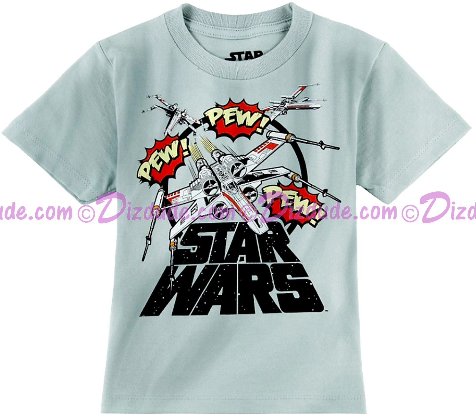 Disney Star Wars X-Wing Pew Pew Toddler T-Shirt (Tshirt, T shirt or Tee) © Dizdude.com