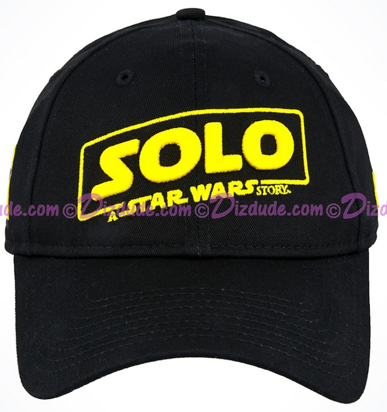 Disney SOLO A Star Wars Story Title Logo Adjustable Baseball Hat © Dizdude.com