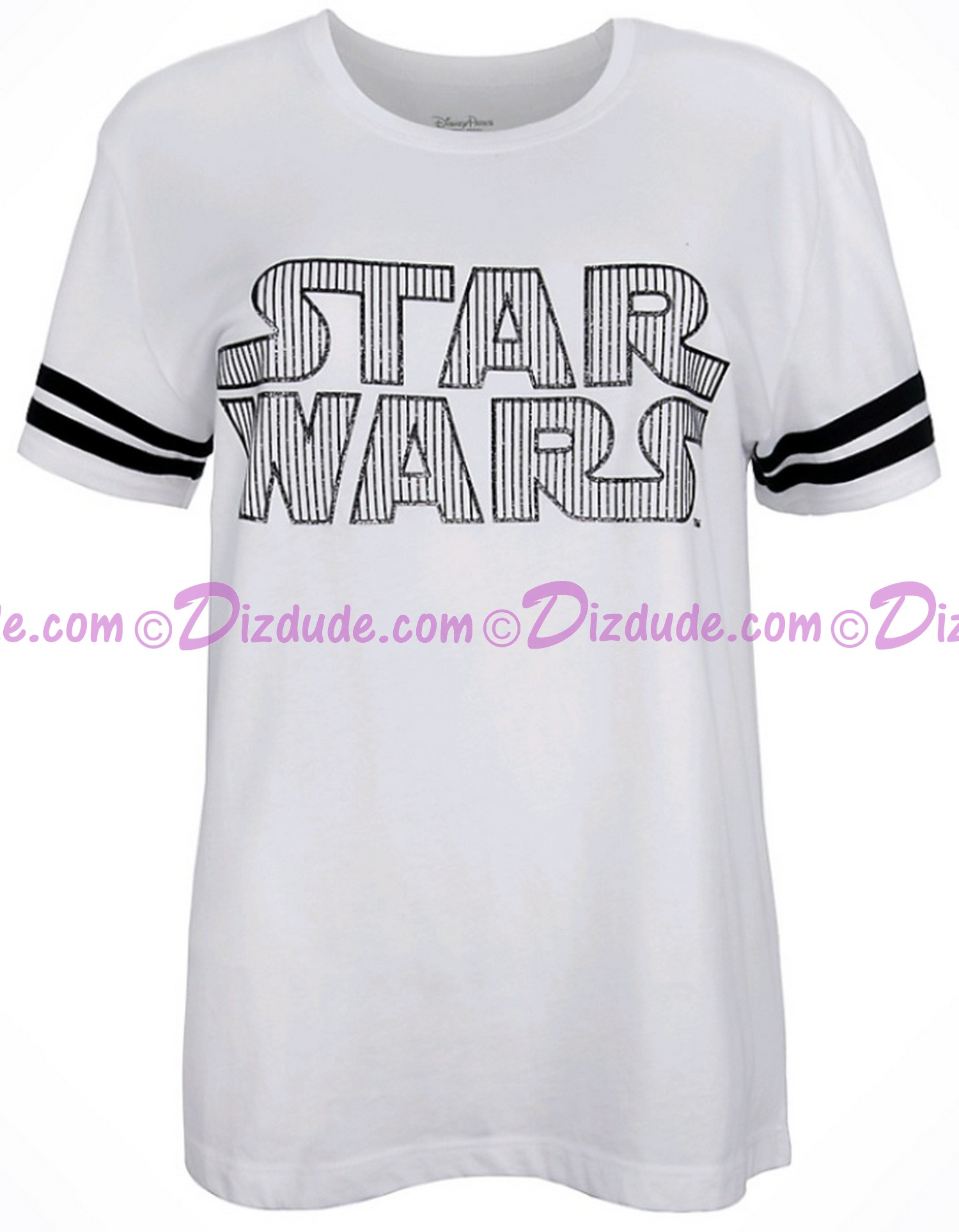 Star Wars Title Logo Football Ladies Tank T-Shirt (Tshirt, T shirt or Tee) ~ Disney SOLO A Star Wars Story © Dizdude.com