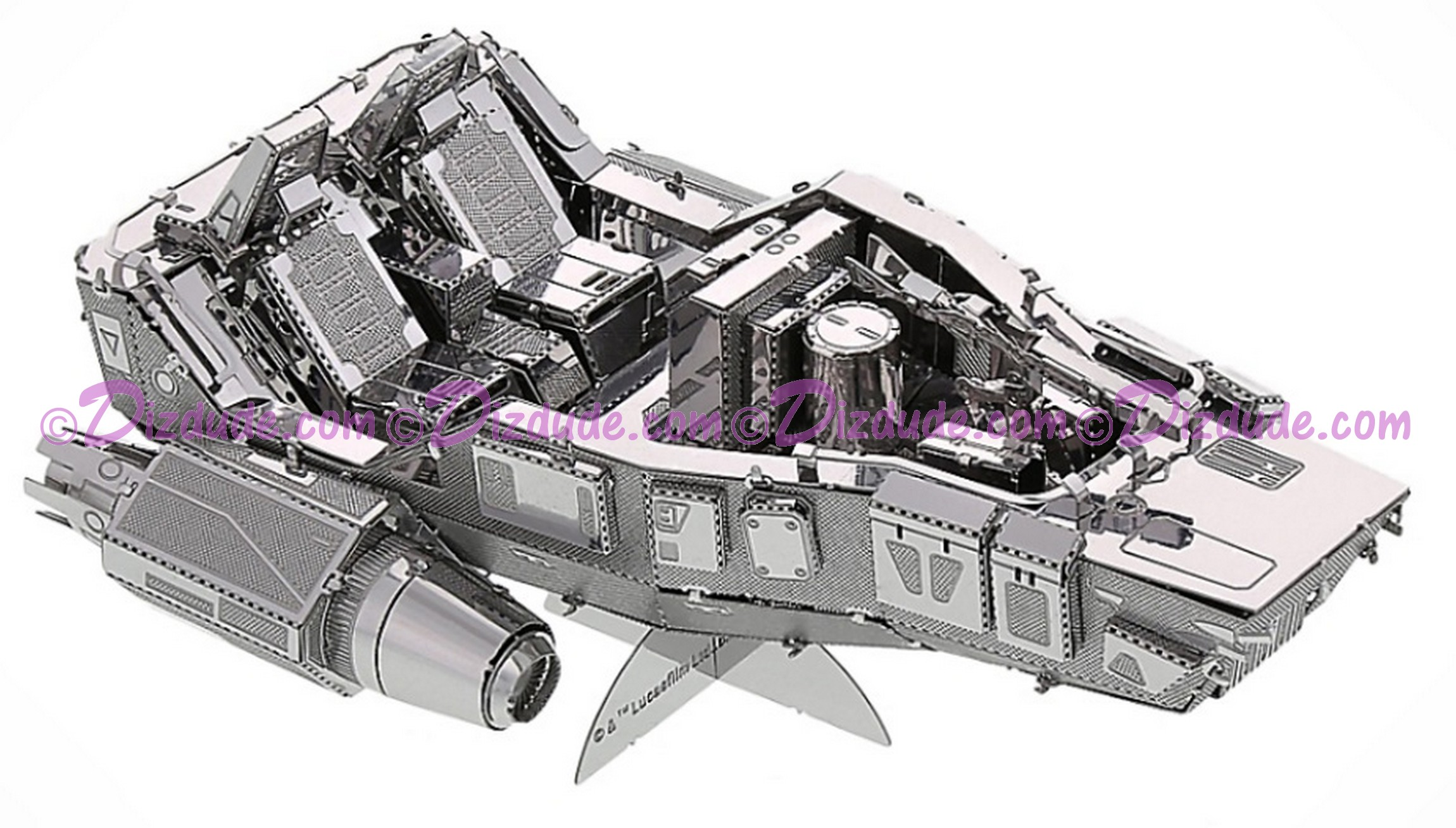The Force Awakens First Order Snowspeeder 3D Metal Model Kit ~ Disney Star Wars © Dizdude.com