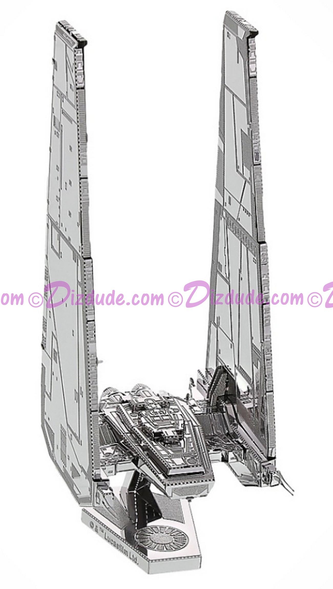 The Force Awakens Kylo Ren's Command Shuttle 3D Metal Model Kit ~ Disney Star Wars © Dizdude.com