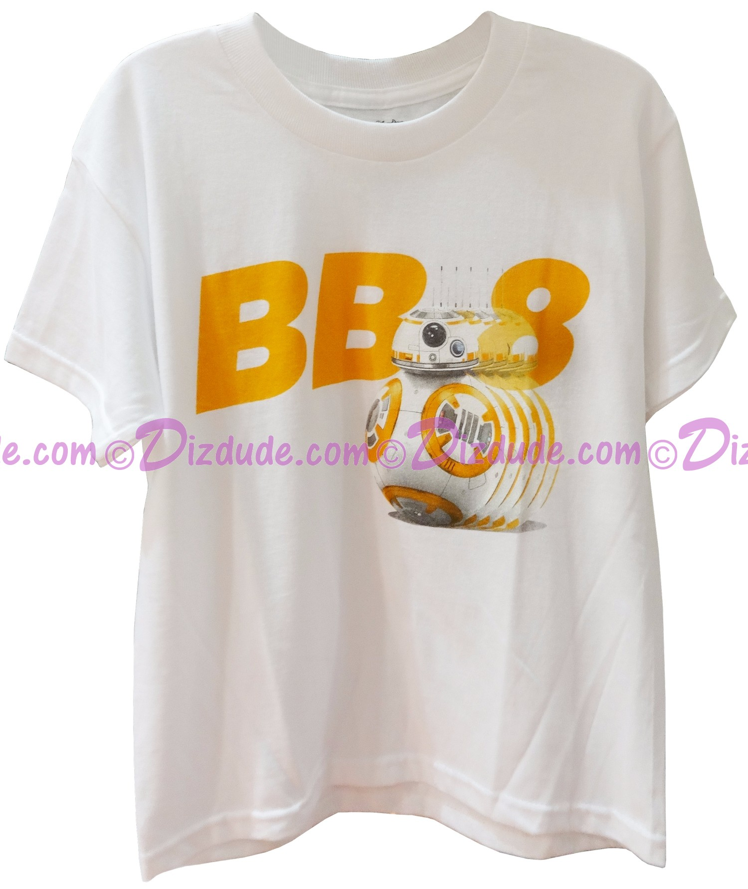 BB-8 Youth T-Shirt (Tshirt, T shirt or Tee) from Disney Star Wars: The Force Awakens © Dizdude.com