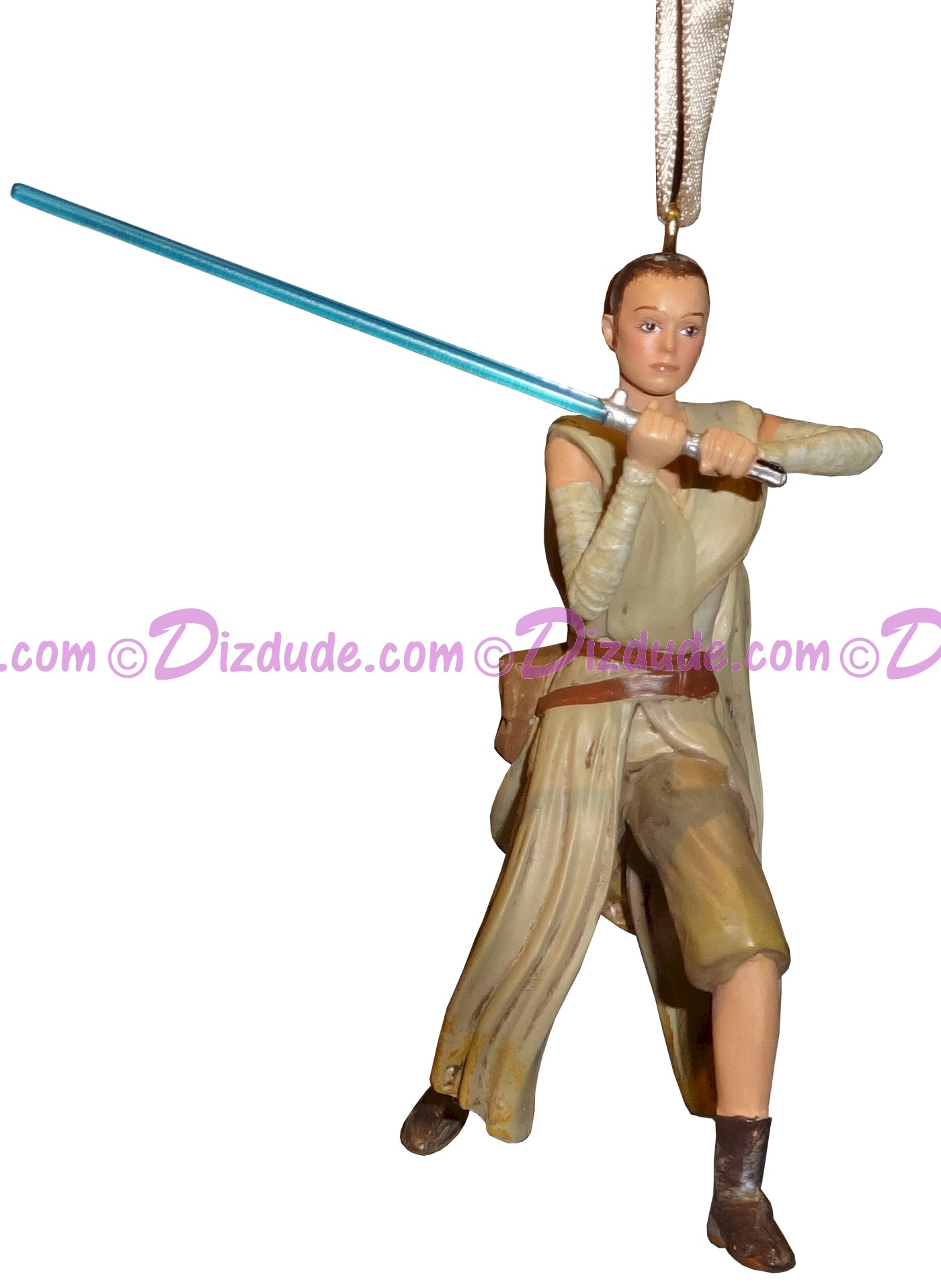 Rey 3D Christmas Ornament - Disney Star Wars: The Force Awakens © Dizdude.com