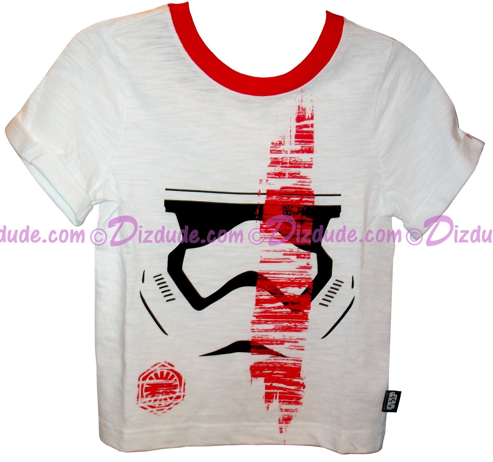 First Order Stormtrooper Youth T-Shirt (Tshirt, T shirt or Tee) - Disney Star Wars Episode VIII: The Last Jedi © Dizdude.com