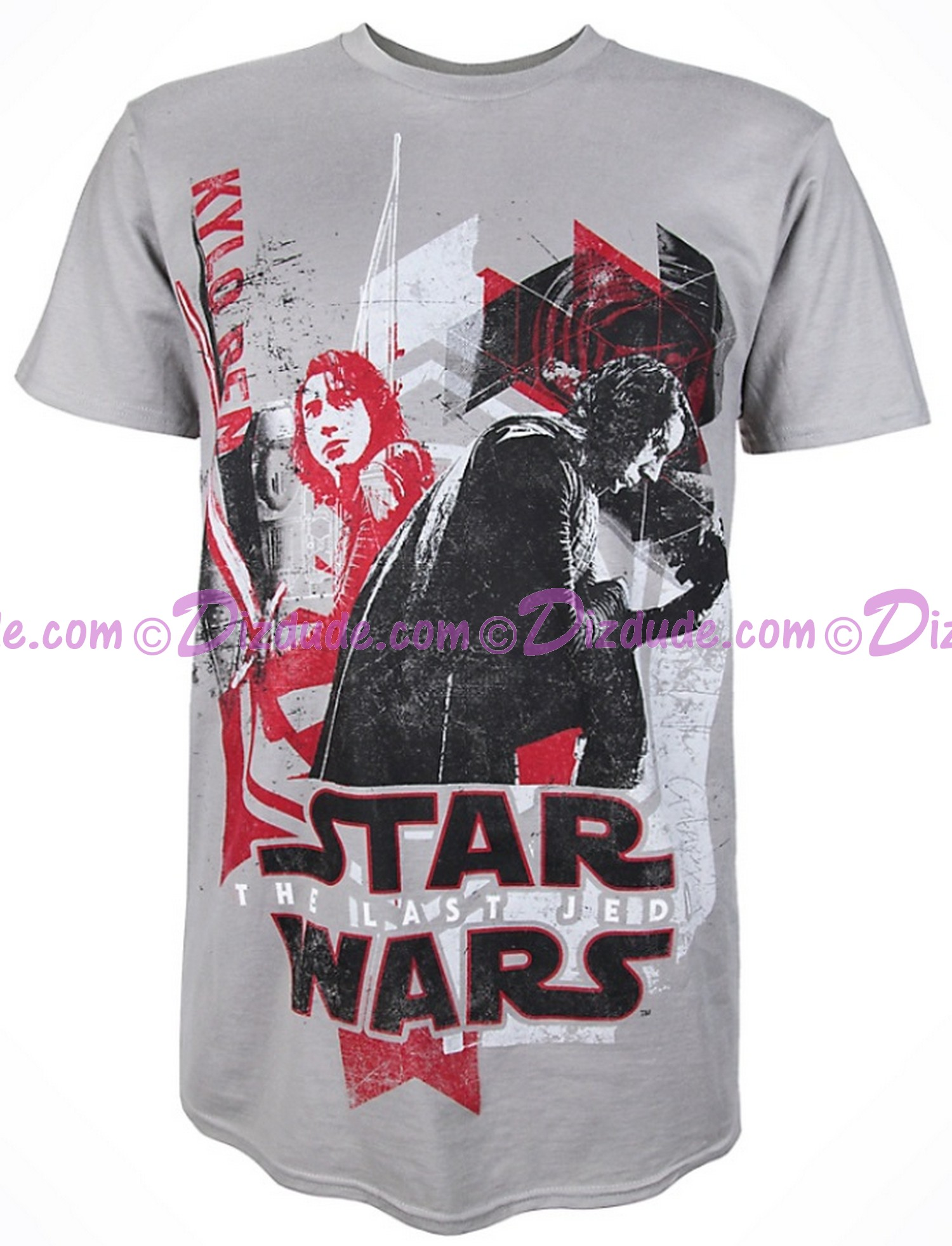 Kylo Ren Adult T-Shirt (Tshirt, T shirt or Tee) - Disney Star Wars Episode VIII: The Last Jedi  © Dizdude.com