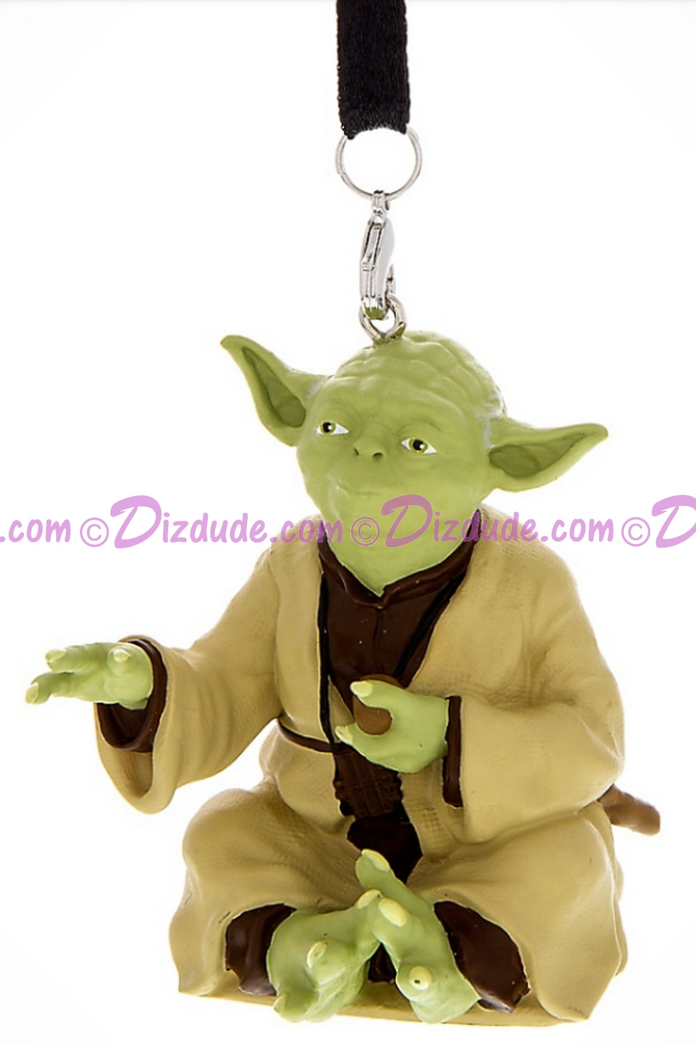 Jedi Master Yoda 3D Christmas Ornament - Disney Star Wars © Dizdude.com