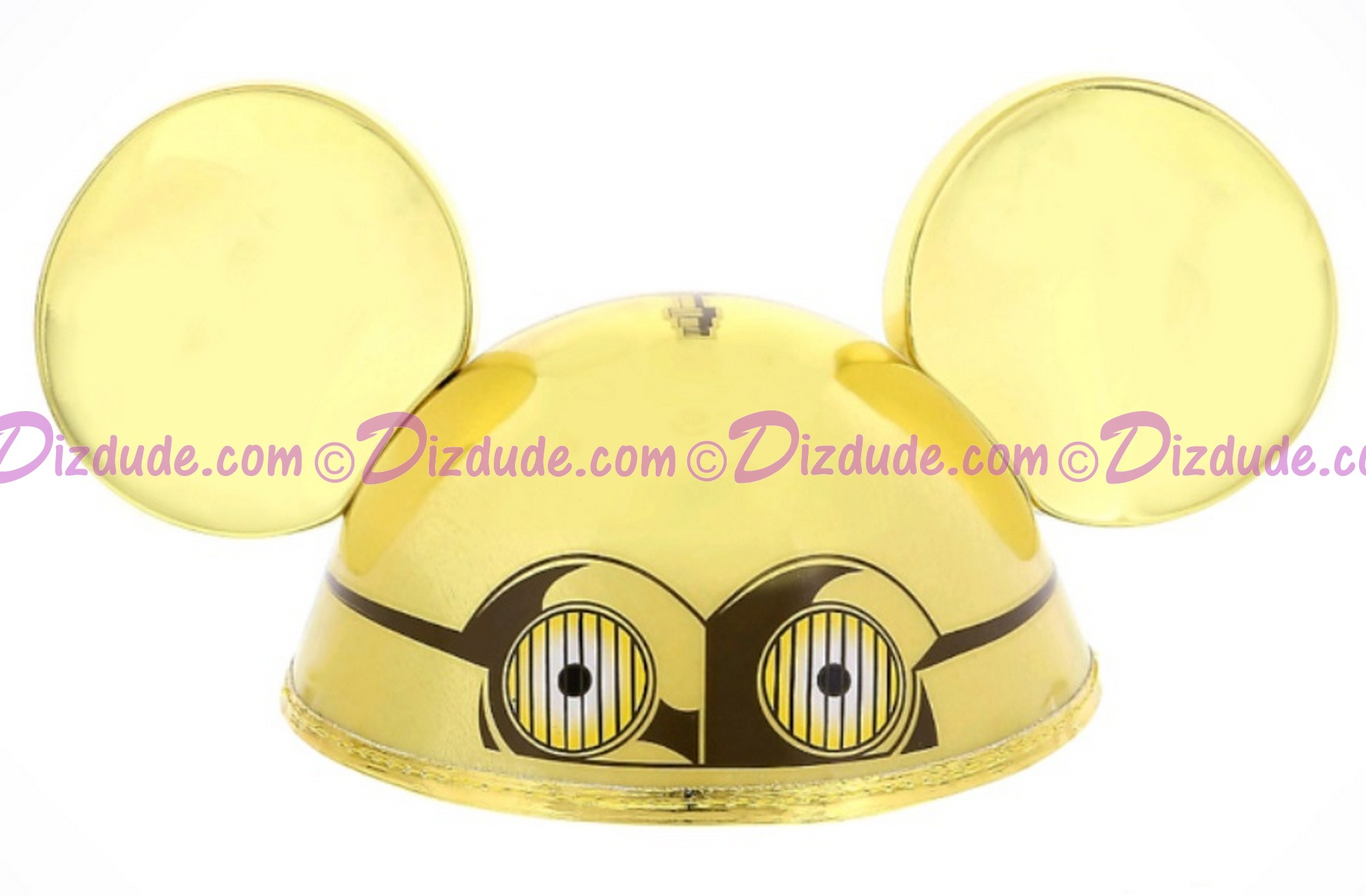 Disney Star Wars C-3PO Ear Hat © Dizdude.com