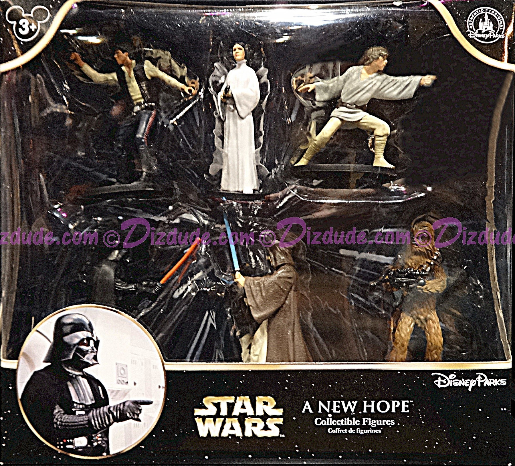 Star Wars A New Hope Collectible Figures ~ Disney Star Wars Weekends 2015
