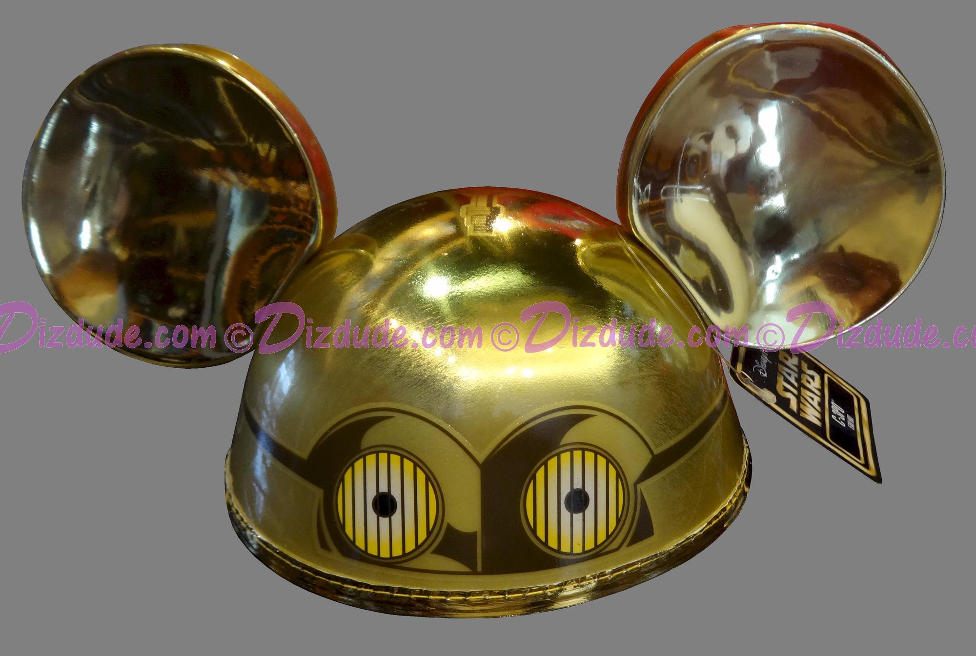 Disney Star WarsC-3PO Ear Hat © Dizdude.com