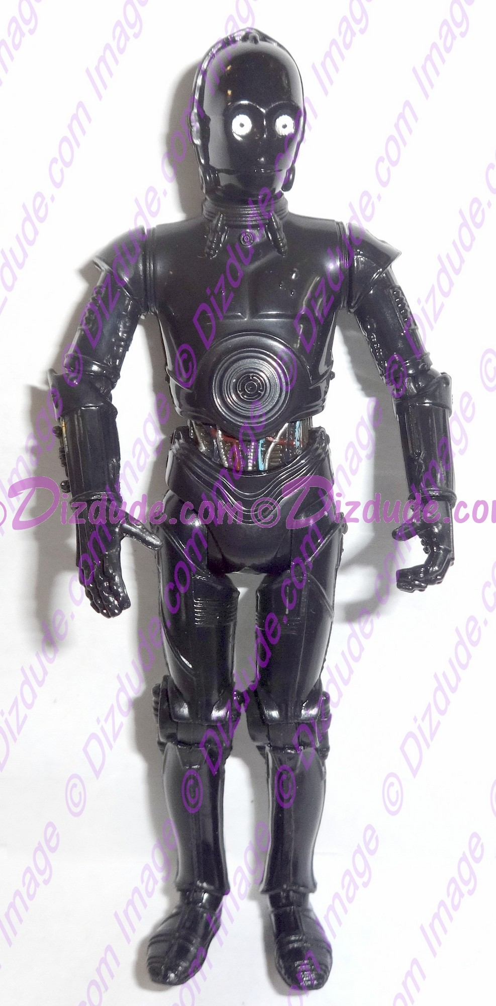 Black 3PO Protocol Droid from Disney Star Wars Build-A-Droid Factory © Dizdude.com