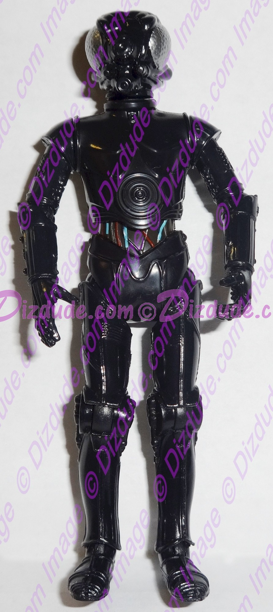 Black LOM Protocol Droid from Disney Star Wars Build-A-Droid Factory © Dizdude.com
