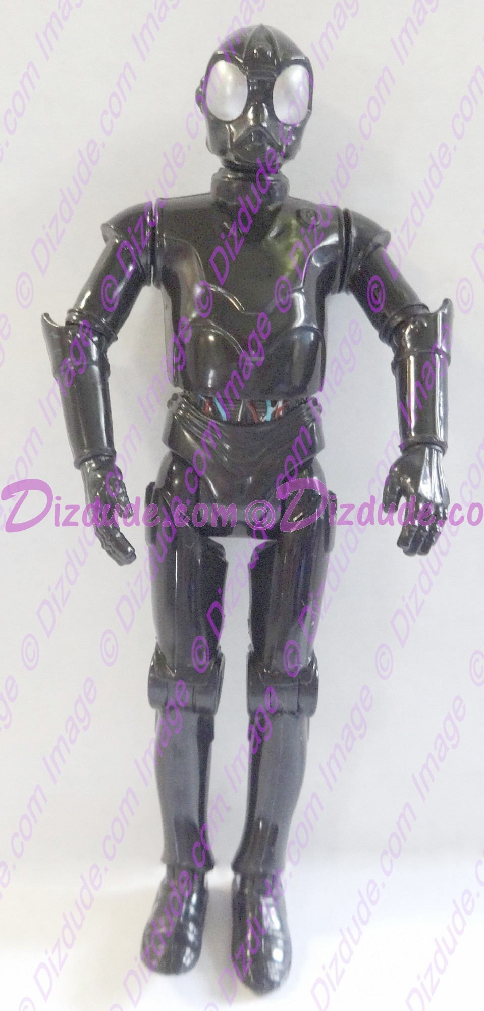 Black RA Protocol Droid from Disney Star Wars Build-A-Droid Factory © Dizdude.com