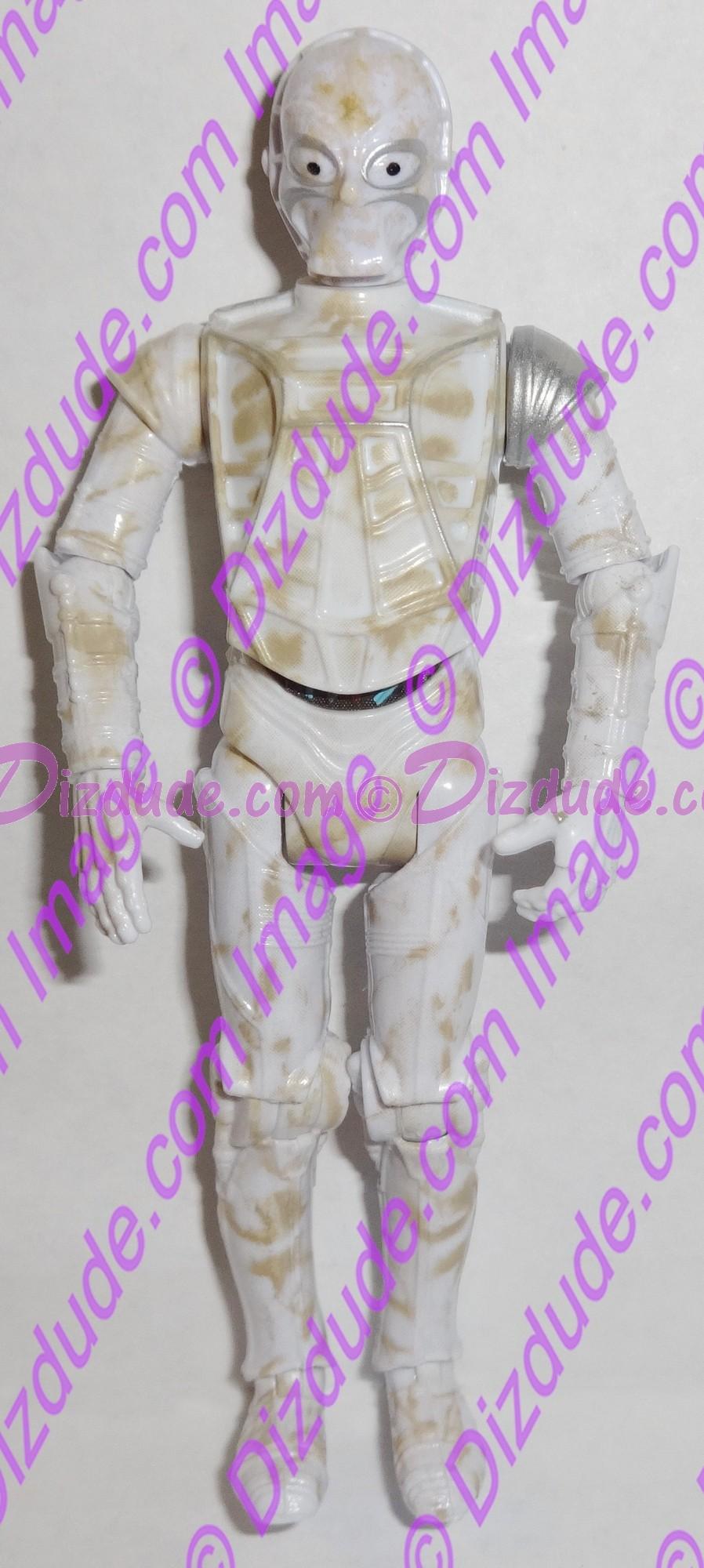 White CZ Protocol Droid from Disney Star Wars Build-A-Droid Factory © Dizdude.com