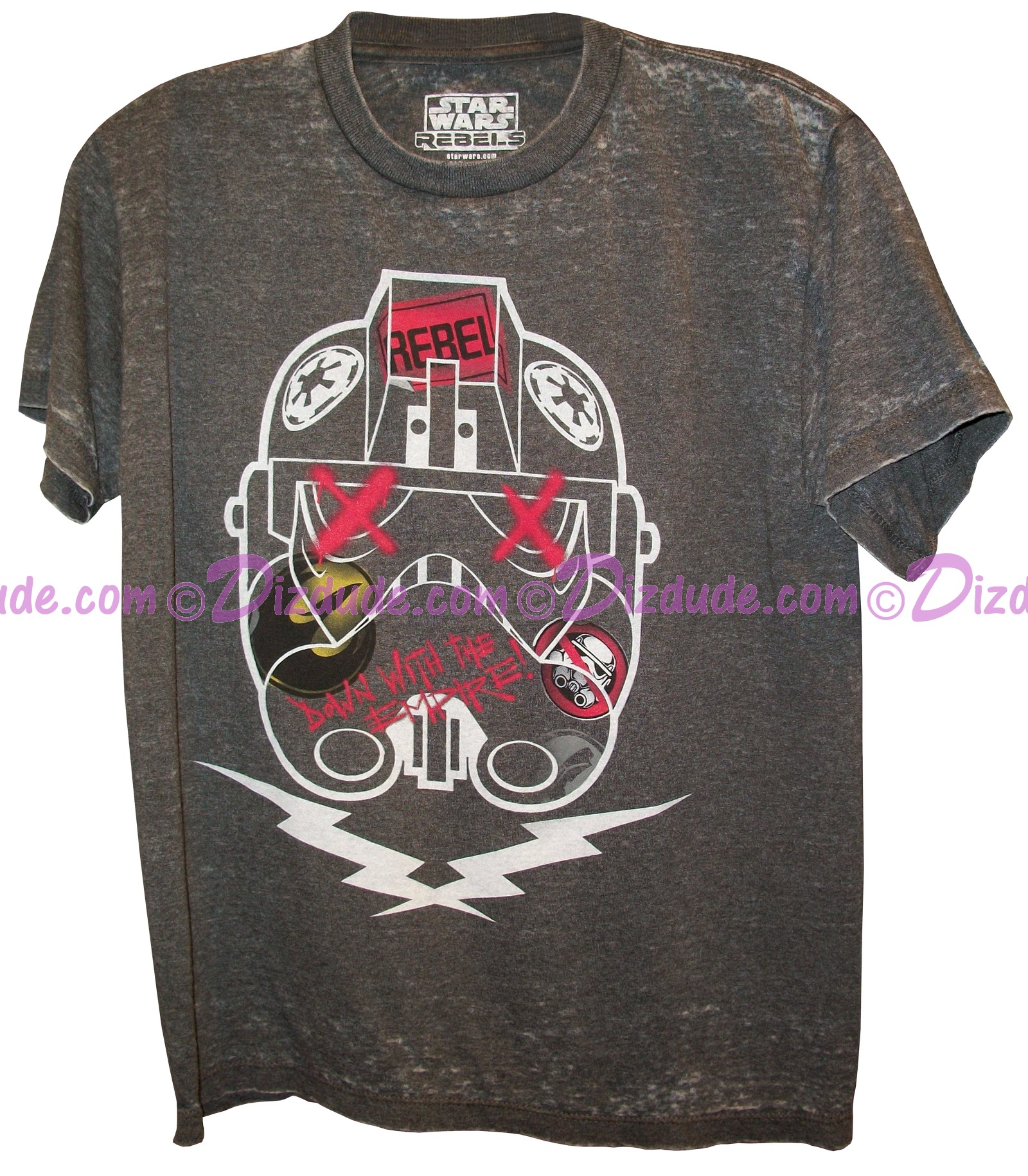 REBEL's Graffit Youth T-Shirt  - Disney Star Wars © Dizdude.com