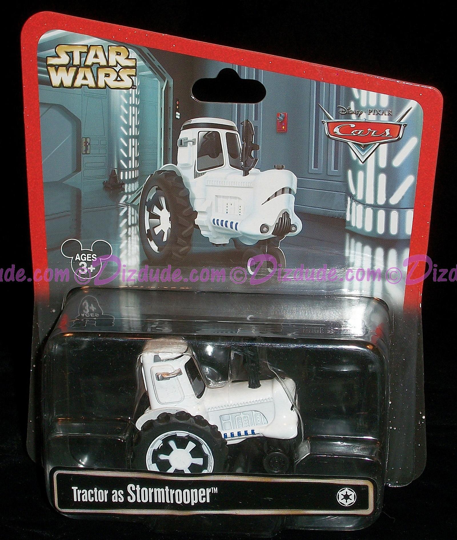 "Disney Pixar ""Cars"" Tractor as LucasFilms 'Star Wars"" Stormtrooper Racer for Star Wars Weekends 2013 -Series 1 © Dizdude.com"