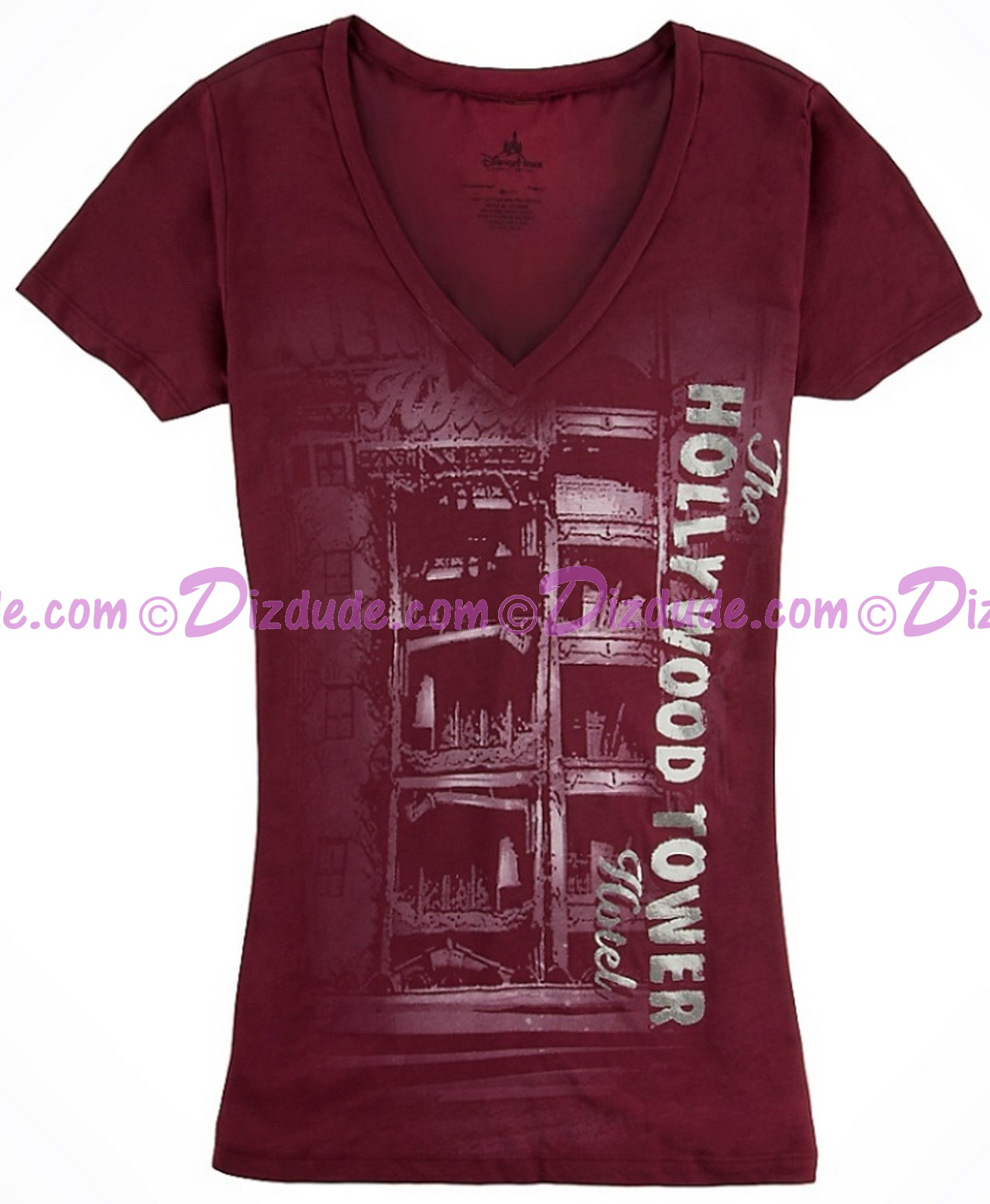 (SOLD OUT) The Hollywood Tower Hotel Womans Tshirt (Tee, Tshirt or T shirt) ~ Twilight Zone Tower of Terror ride