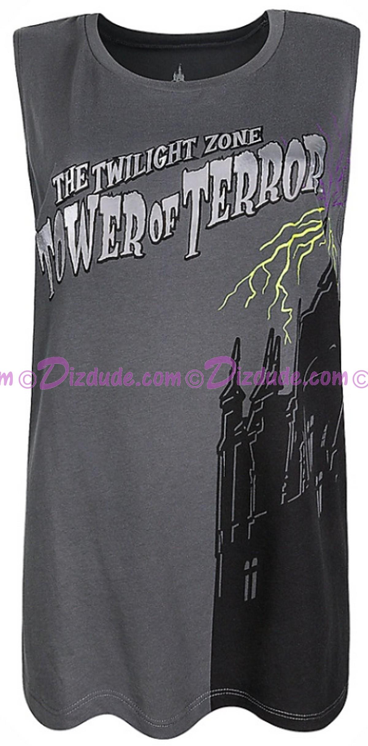 Disney Hollywood Studios Twilight Zone ~ Tower of Terror Ride Ladies Tank Top