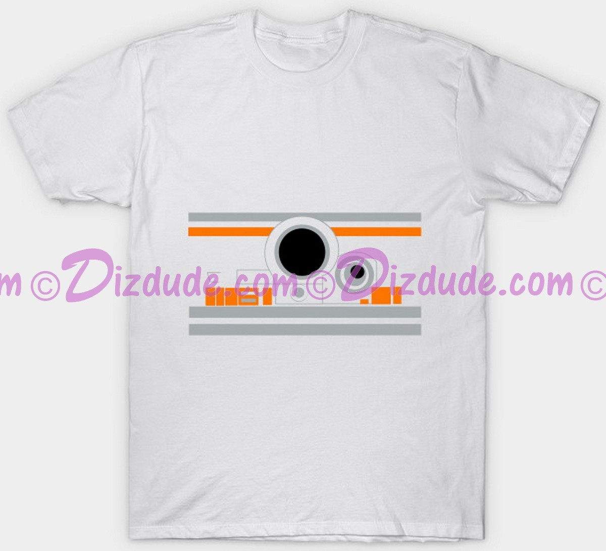 Star Wars Astromech Droid  BB-8 ~ Fantasy T-shirt (Tshirt, T shirt or Tee) © Dizdude.com