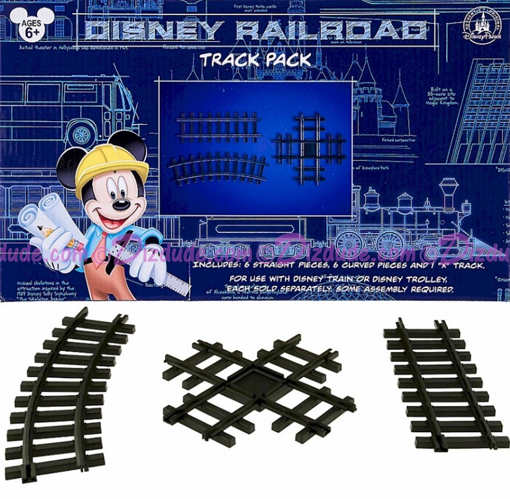 Walt Disney World Railroad Extension Track Accessory Set © Dizdude.com
