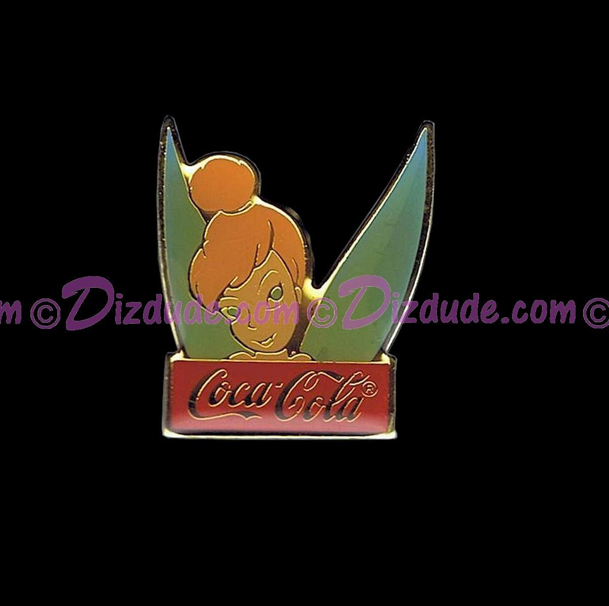 Walt Disney World 15th Anniversary Coca-Cola Framed Set (Tinker Bell) © Dizdude.com