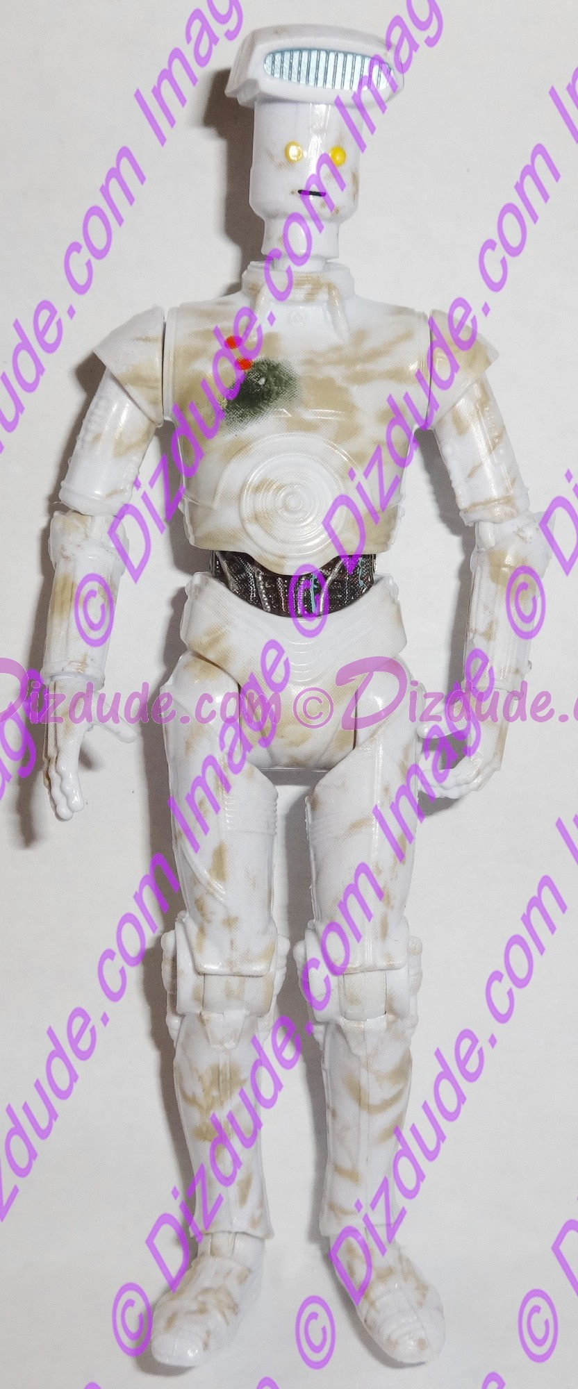 White Vender Protocol Droid from Disney Star Wars Build-A-Droid Factory © Dizdude.com