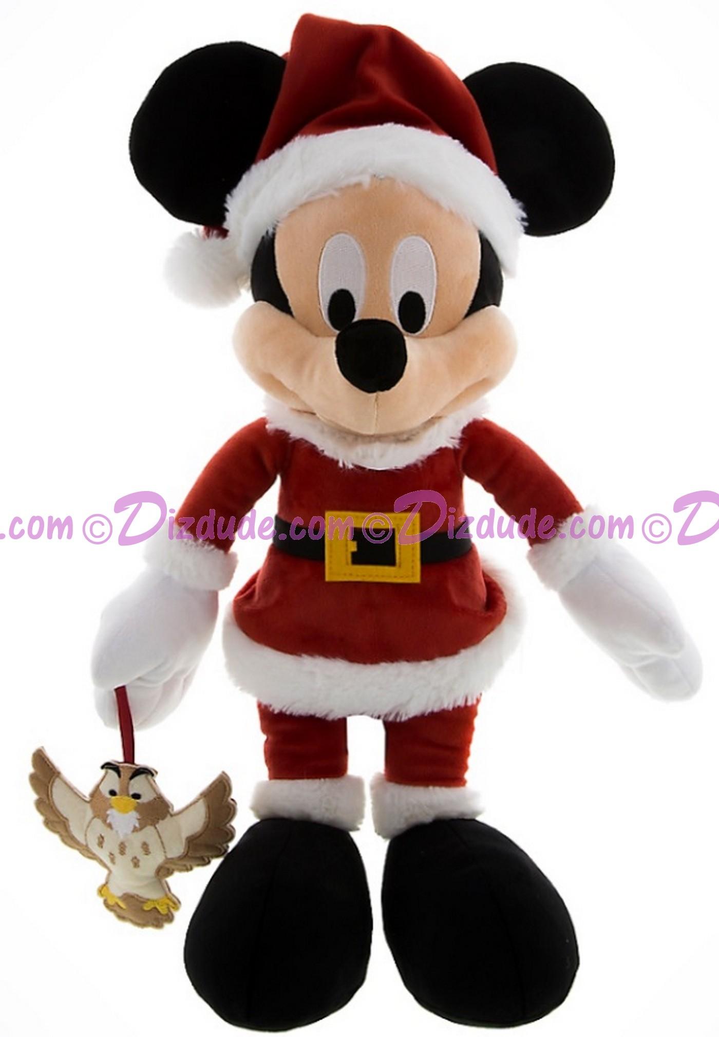 Disney Santa Mickey Mouse 15 inch Plush © Dizdude.com
