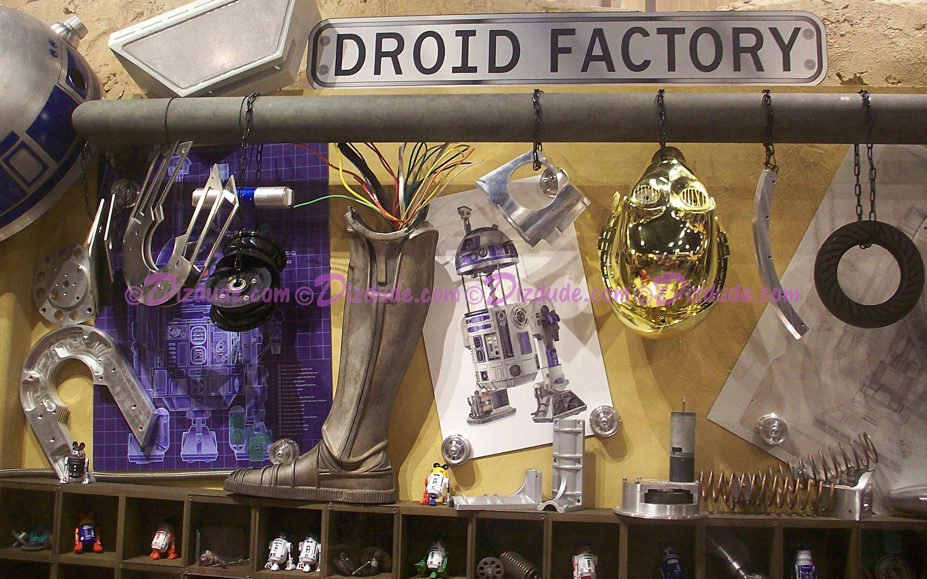 Anakin Skywalker's Droid Work bench