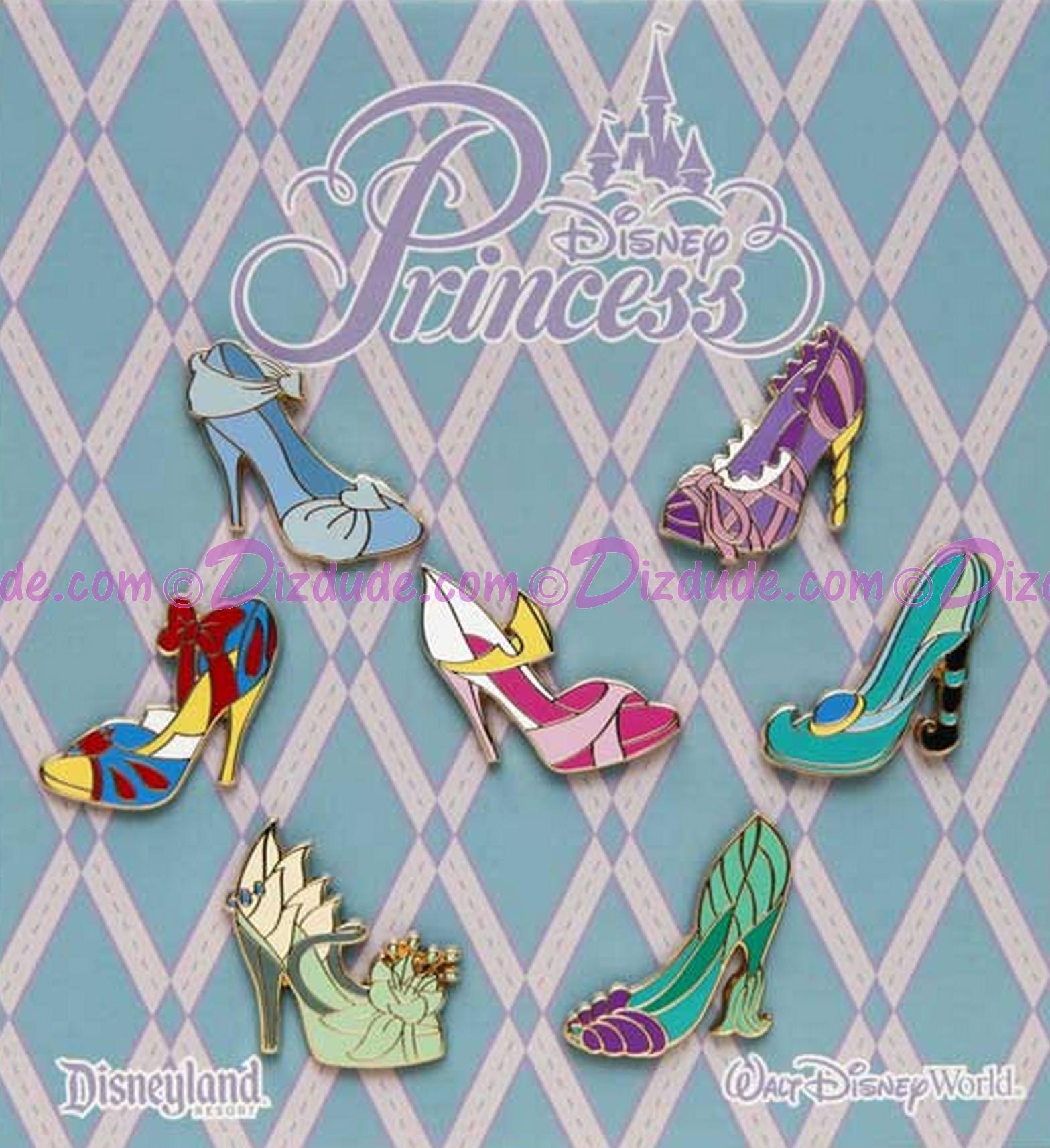 Disney Princesses Shoes Pin Set © Dizdude.com
