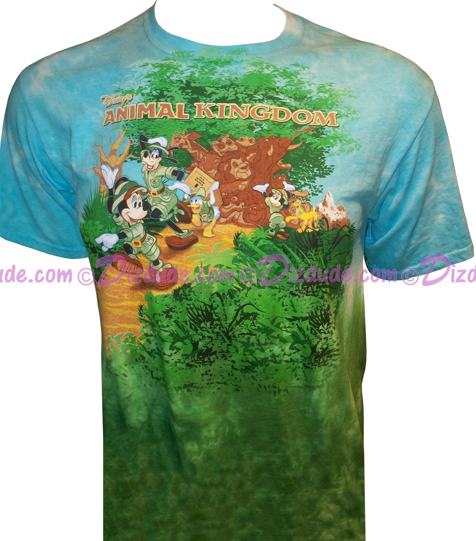 Disney animal kingdoms a walk in the park t for Animal tee shirts online