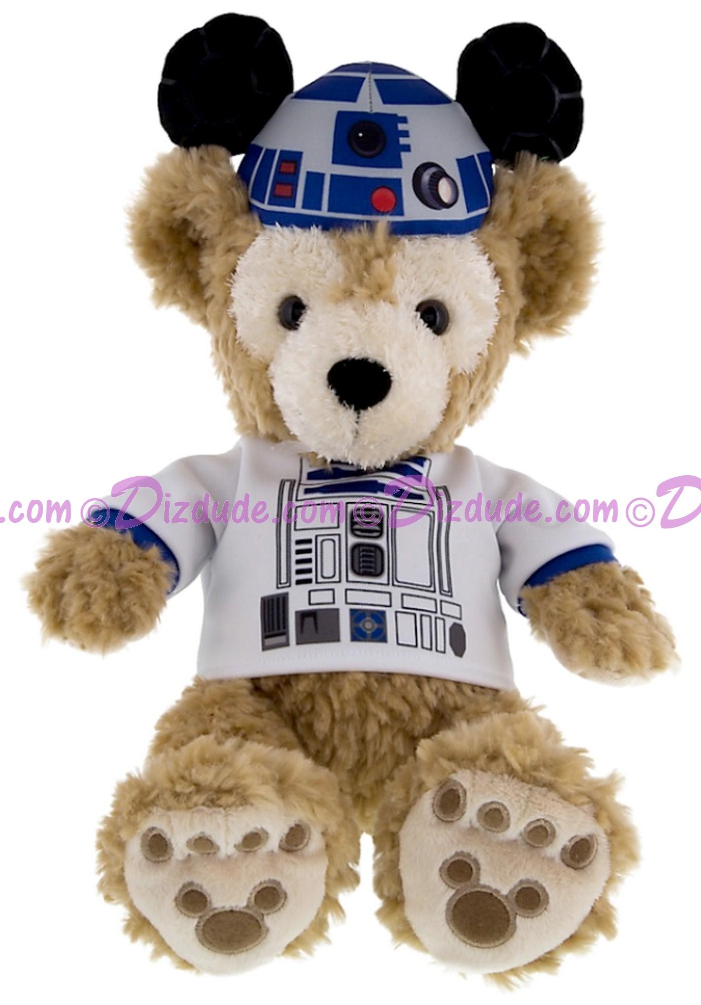 R2-D2 Duffy The Disney Bear Predressed 12 inch Plush Toy © Dizdude.com
