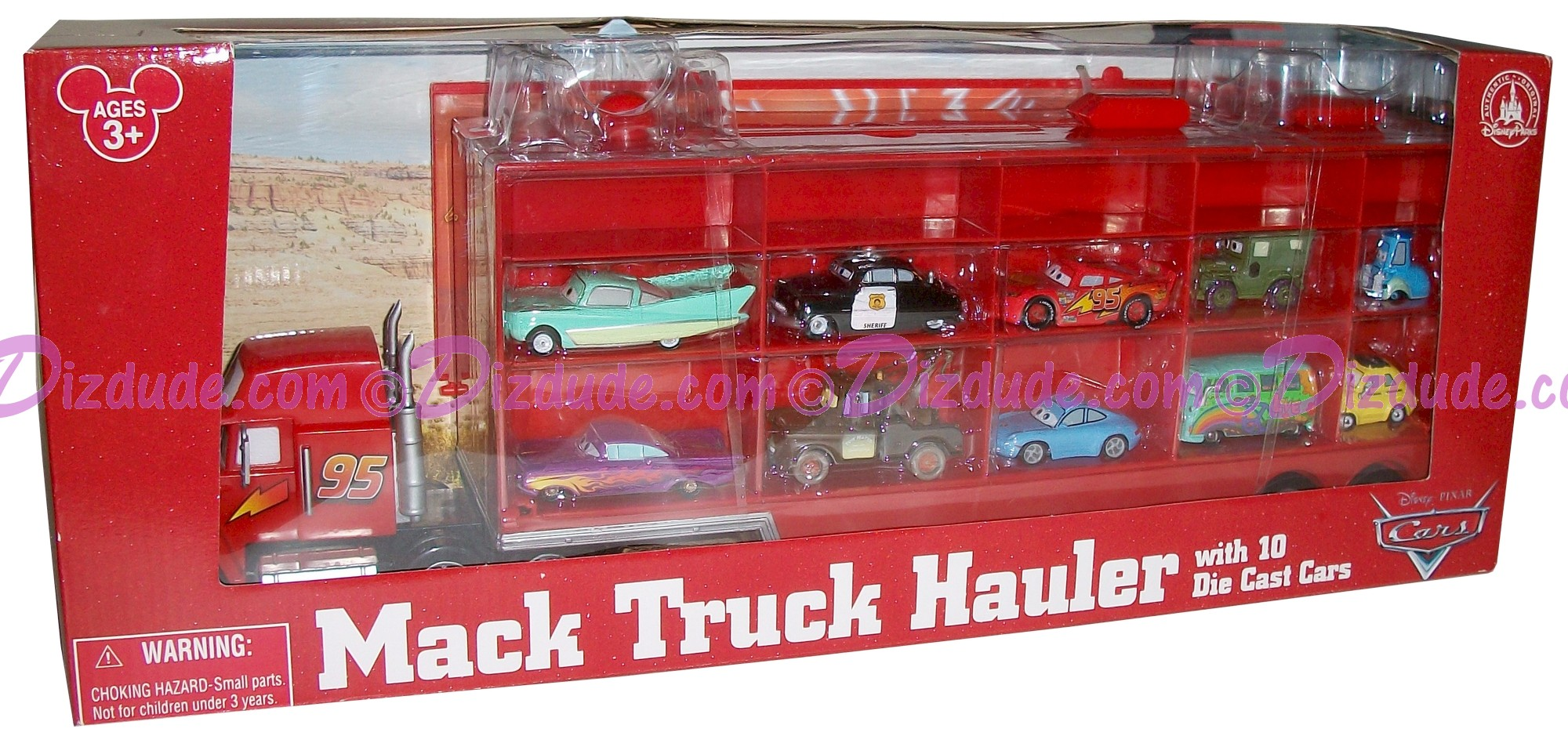 Dizdude Com Disney Pixar Cars Mack Truck Hauler