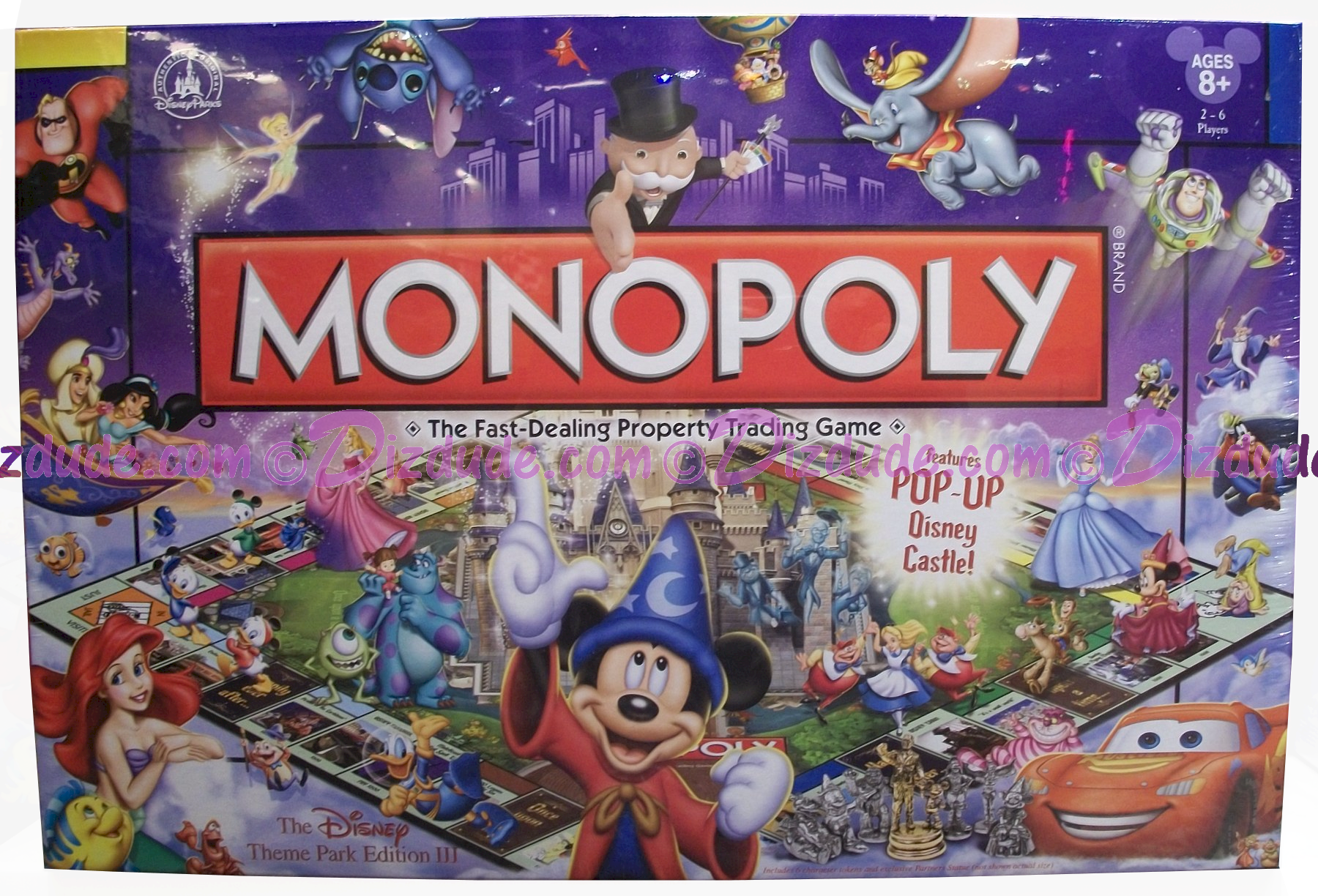 monopoly disney pixar edition instructions