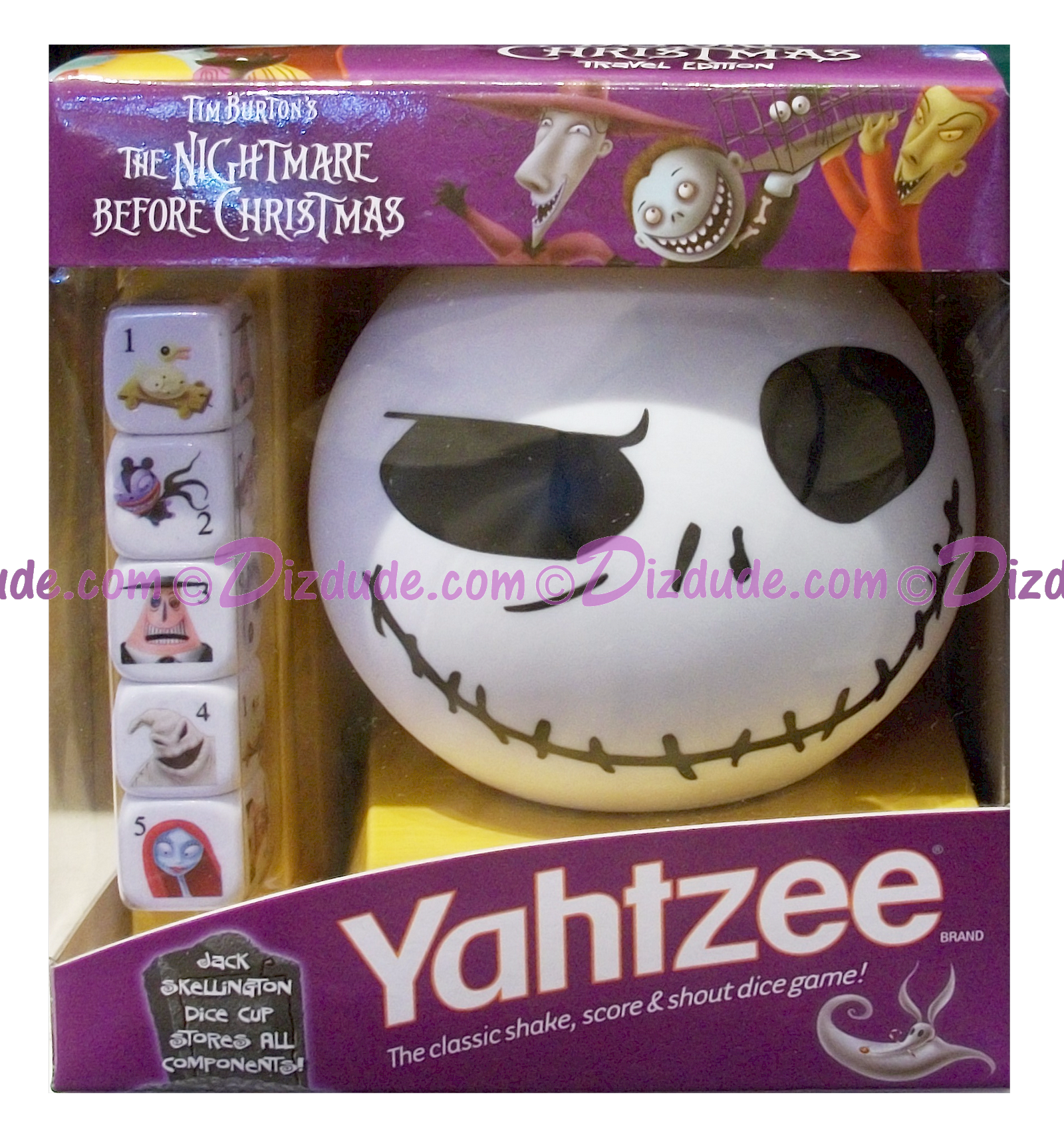 DIZDUDE.com | Yahtzee The Nightmare Before Christmas Travel Edition ...