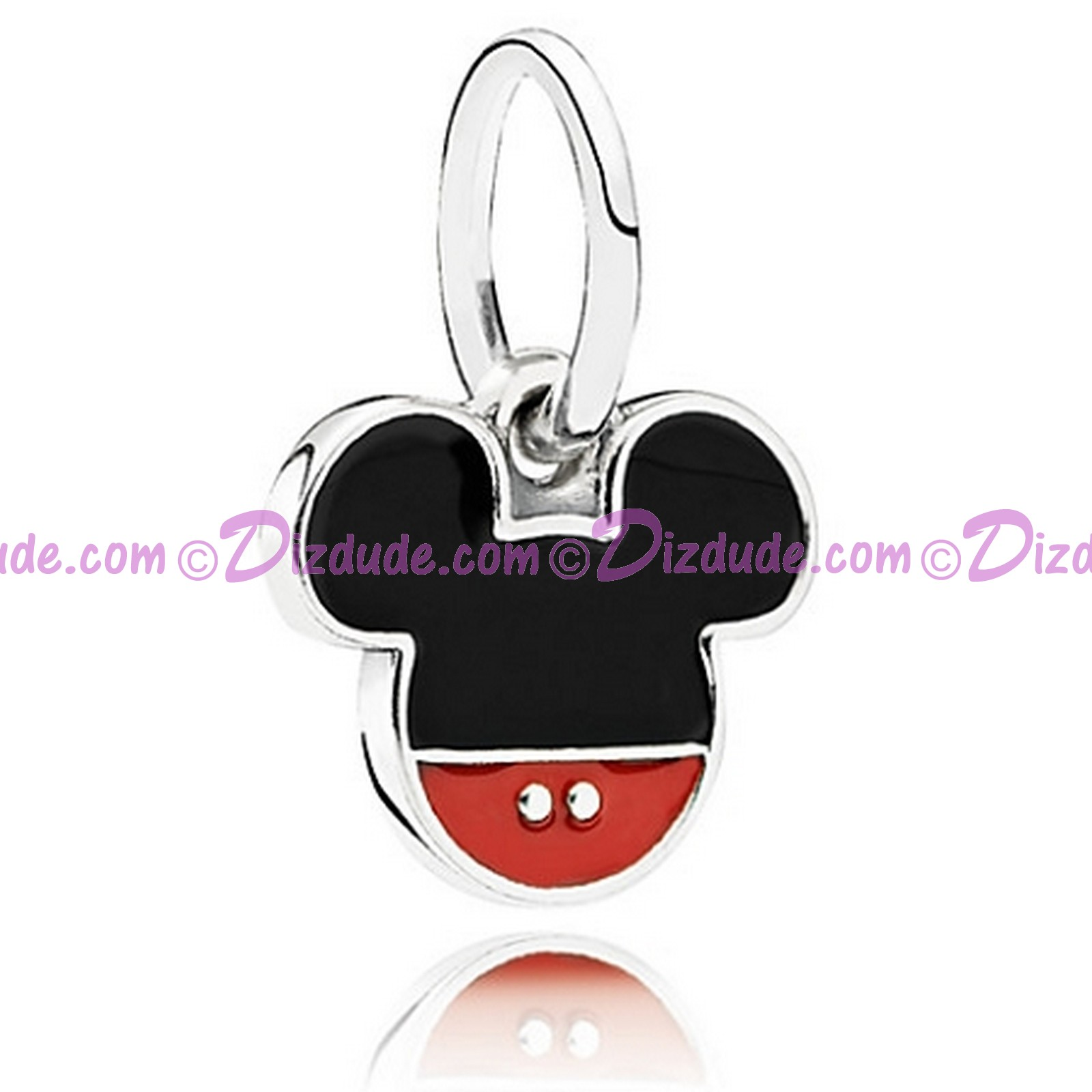 "Disney Pandora ""Mickey Icon"" Sterling Silver Charm"