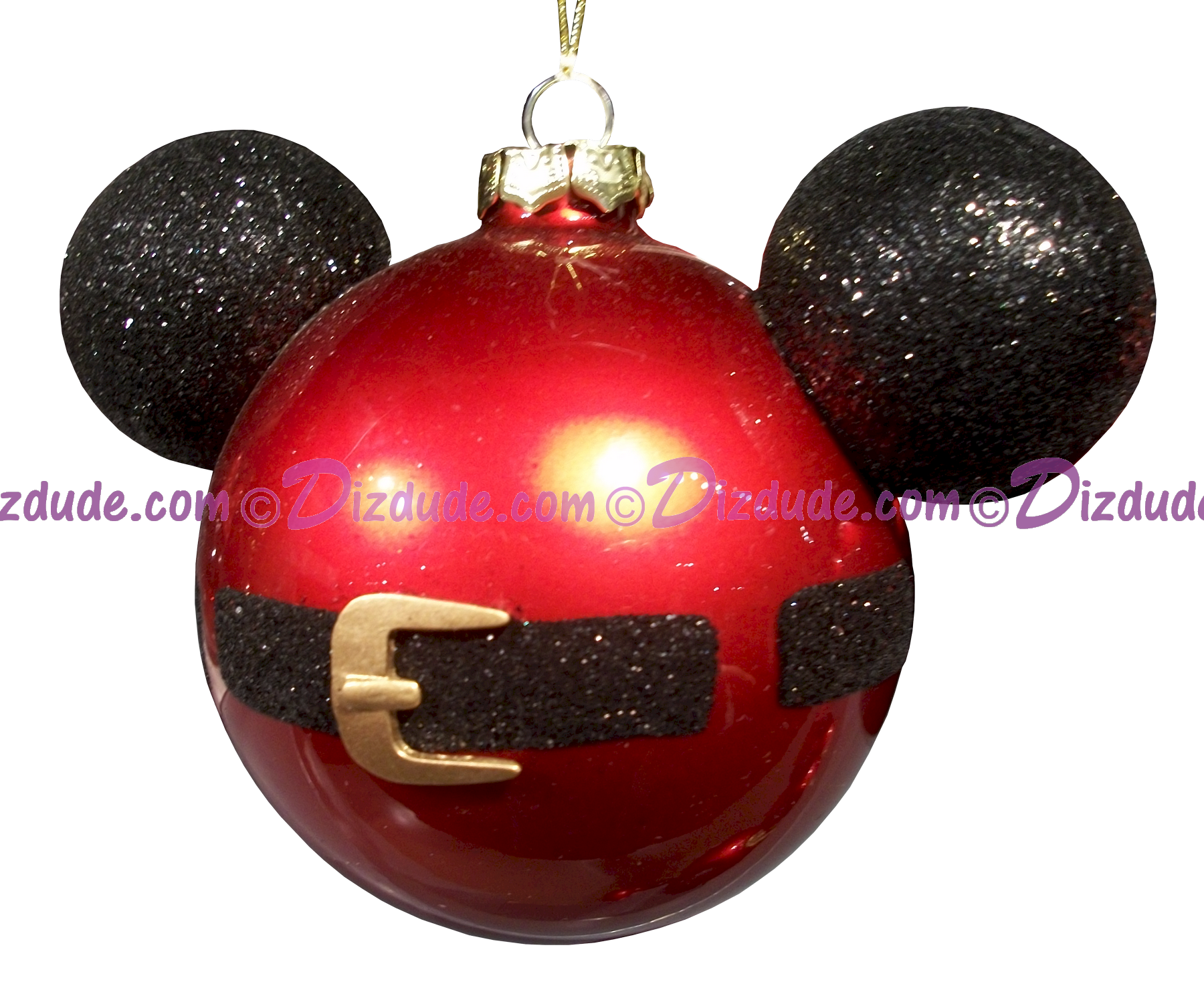 DIZDUDE.com | Disney Mickey Mouse Ears Santa Jacket Christmas Tree ...