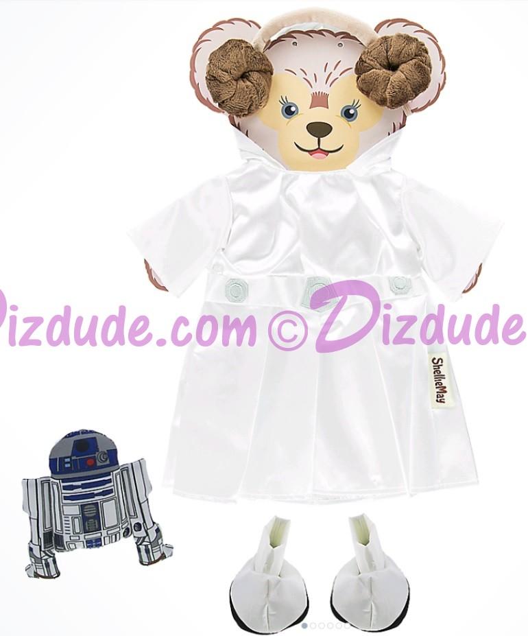 ShellieMay The Disney Bear - Star Wars Princess Leia Costume for 17 inch Plush © Dizdude.com