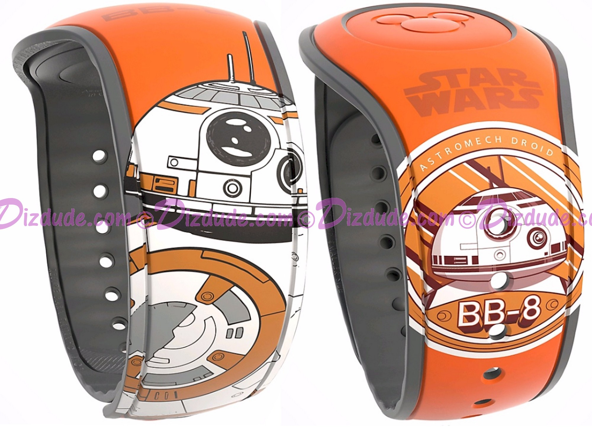 Star Wars: The Force Awakens BB-8 Graphic Magic Band 2 - Disney World Exclusive © Dizdude.com