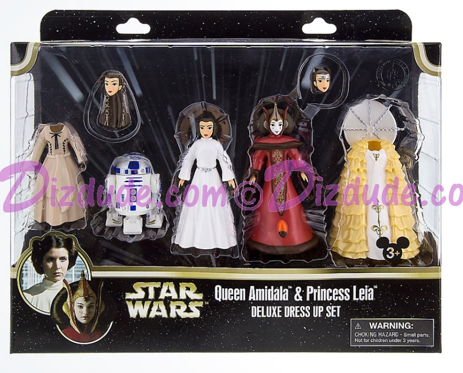 Queen Amidala & Princess Leia Deluxe Fashion Set