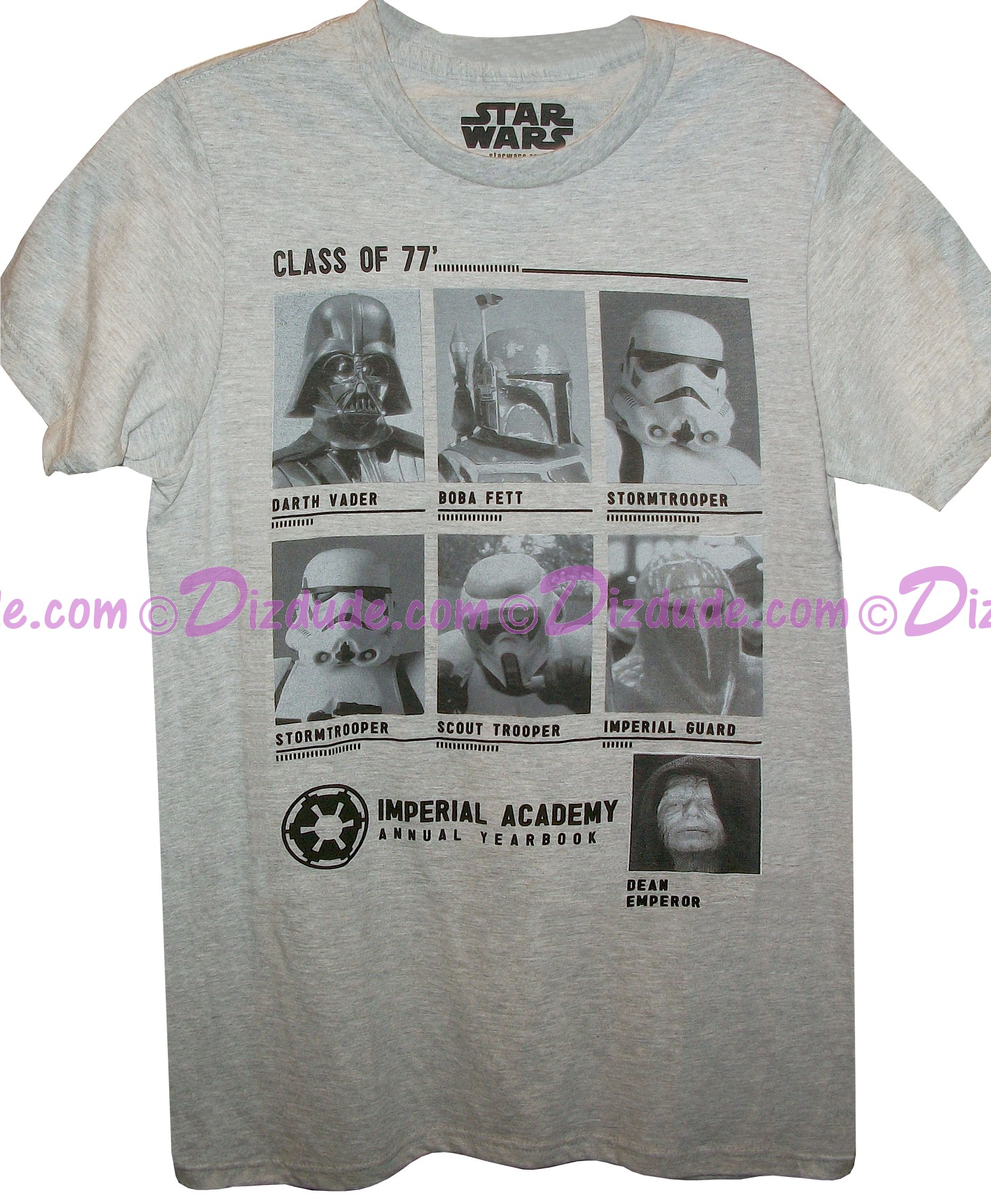 Disney Star Wars Class of 77' Adult T-shirt
