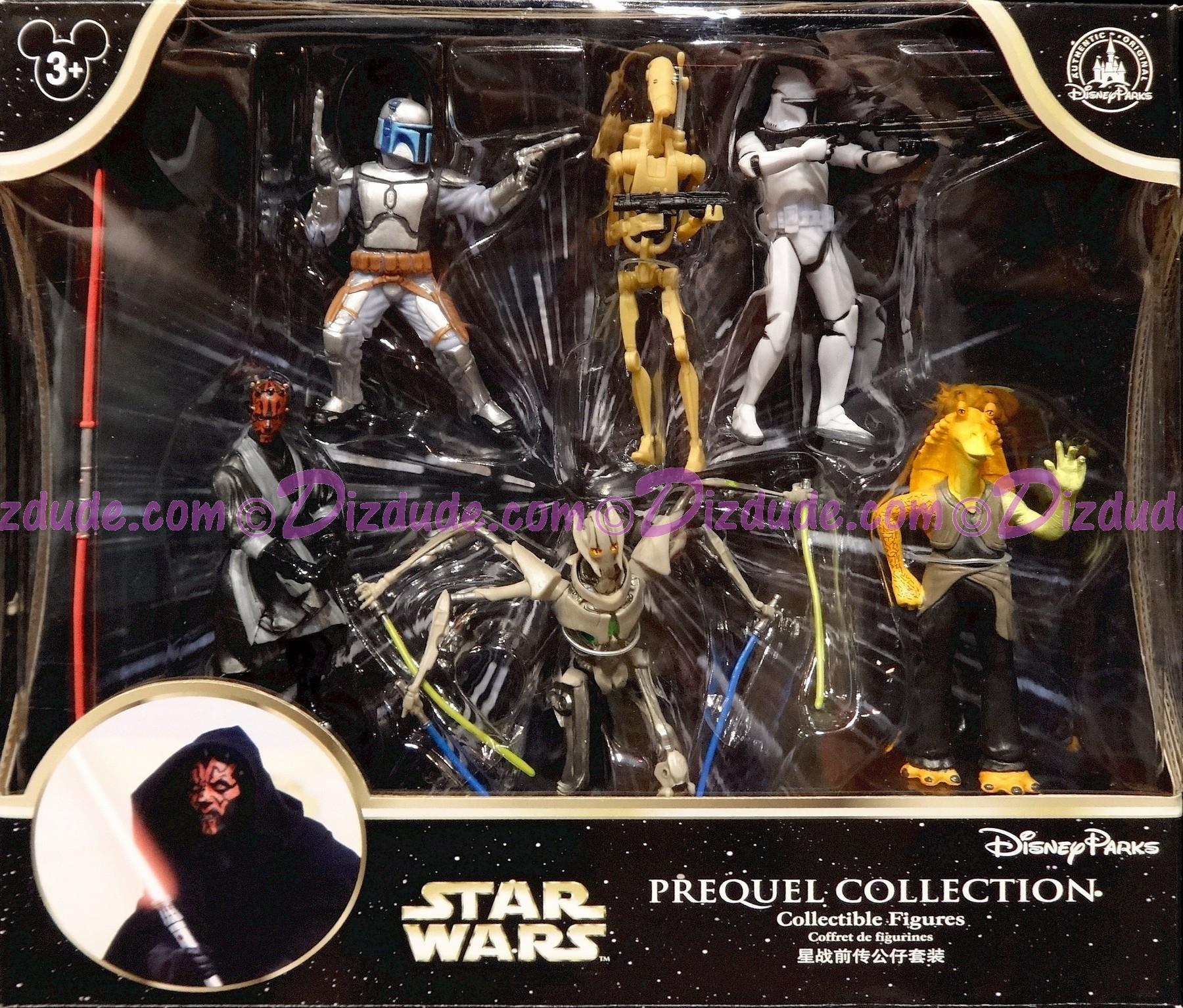 Star Wars Prequel Collectible Figures ~ Disney Star Wars Weekends 2015 © Dizdude.com