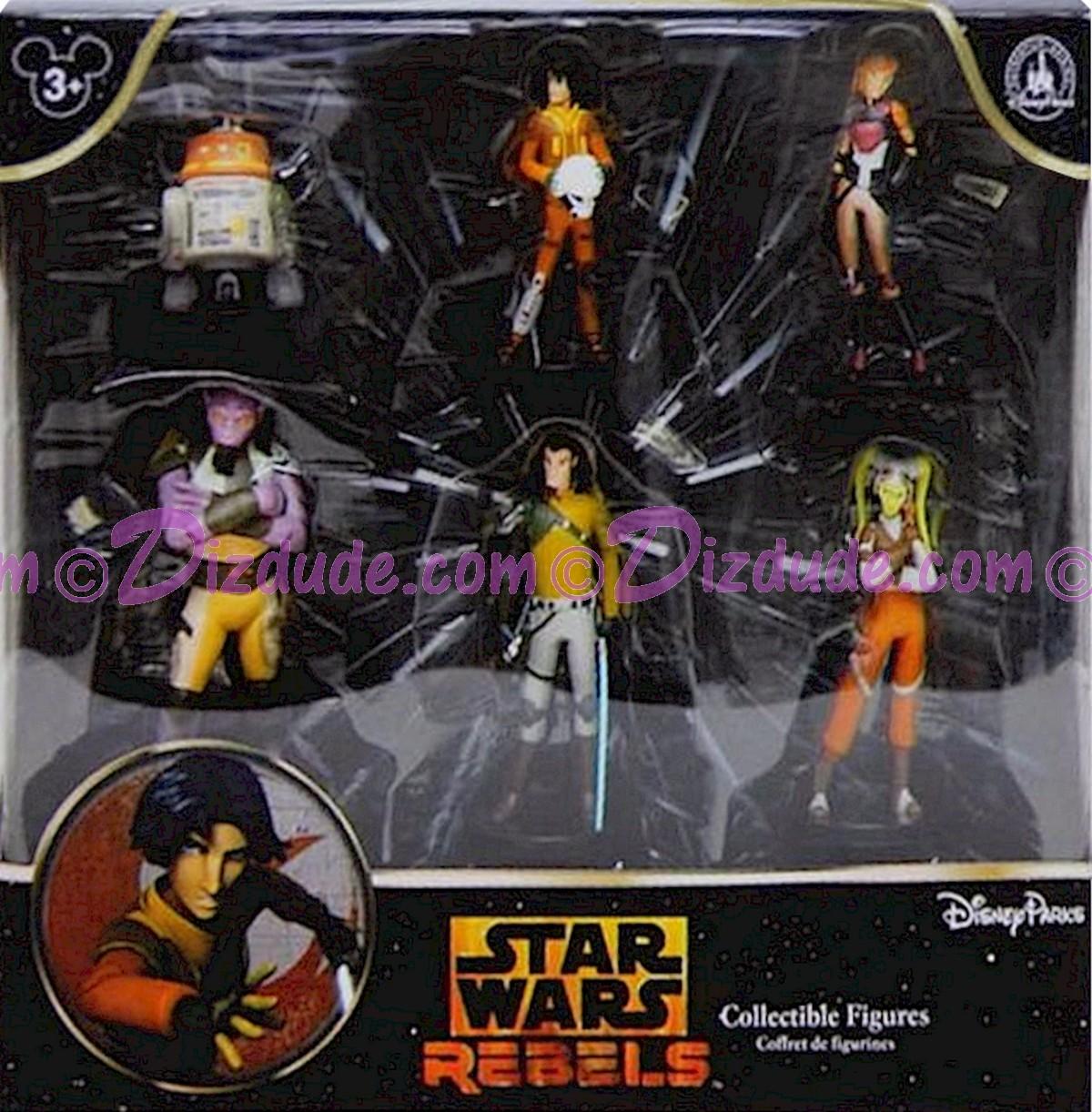 """""""Star Wars REBELS Collectible Figures"""" ~ Disney Star Wars Weekends 2015 © Dizdude.com"""