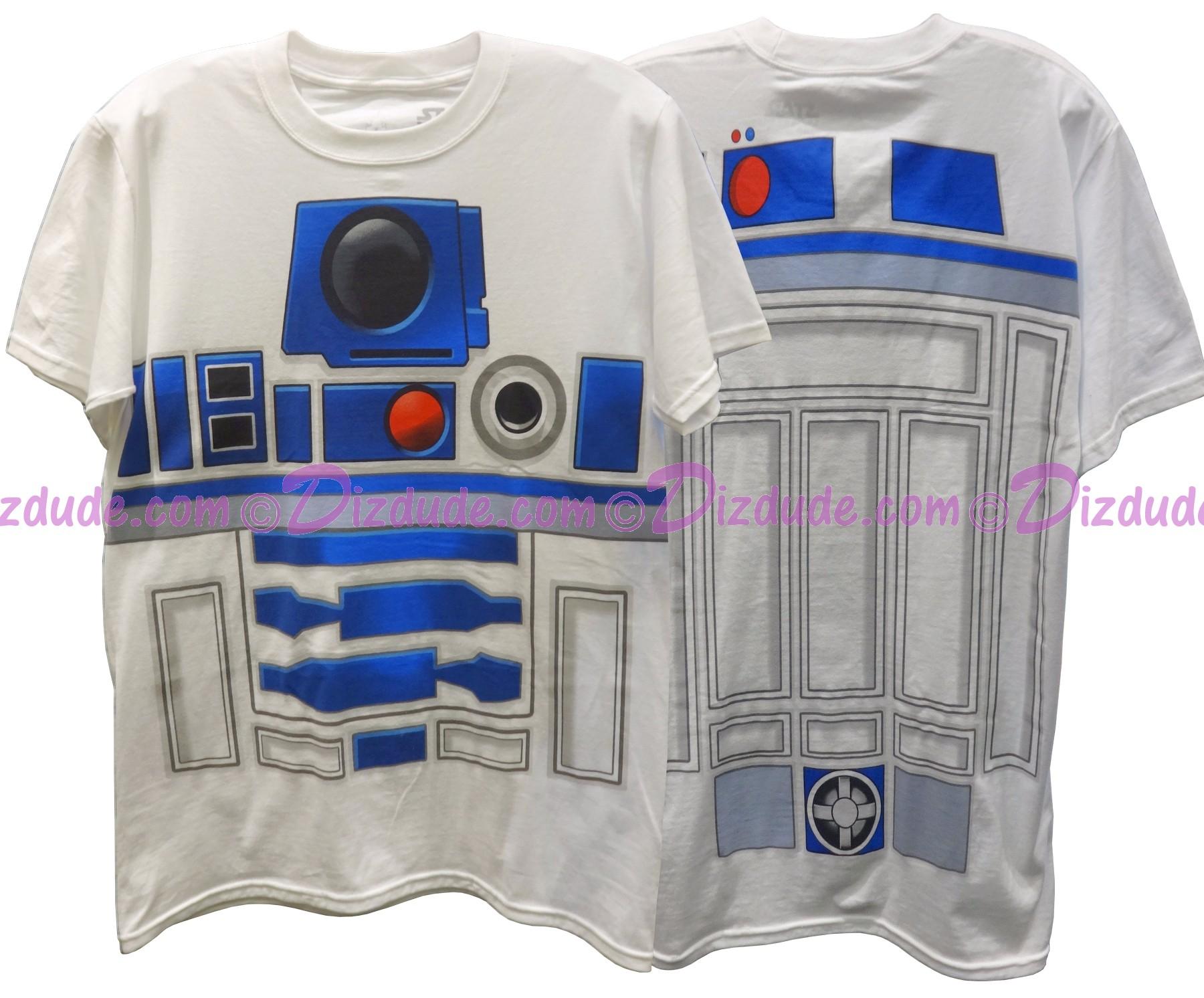 Disney Star Wars: R2-D2 Youth T-Shirt (Tshirt, T shirt or Tee) Printed Front & Back © Dizdude.com