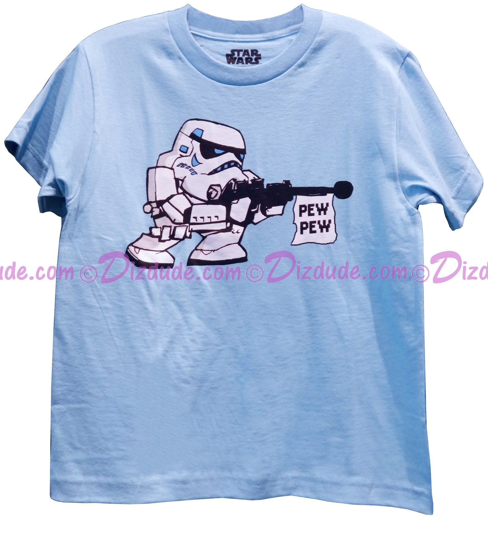 Disney Star Wars Stormtrooper Pew Pew Youth Tshirt