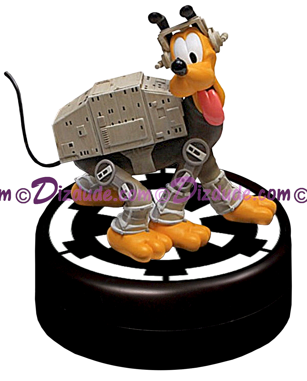Disney Star Wars Weekends 2014 - Pluto as an AT-AT Medium Big Figs with pin LE 1977
