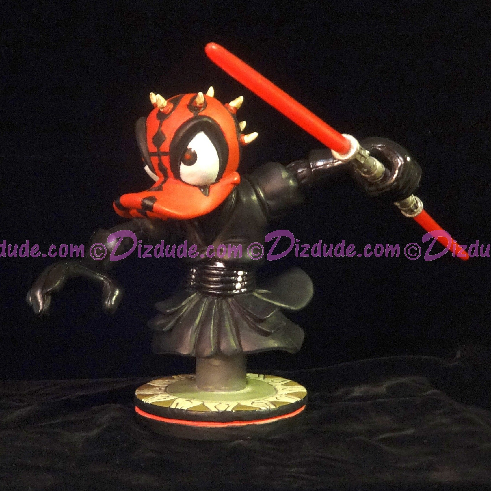 Disney Star Wars Donald as Darth Maul Bust LE 3000 - Official Disney Star Wars Weekends 2015 Event