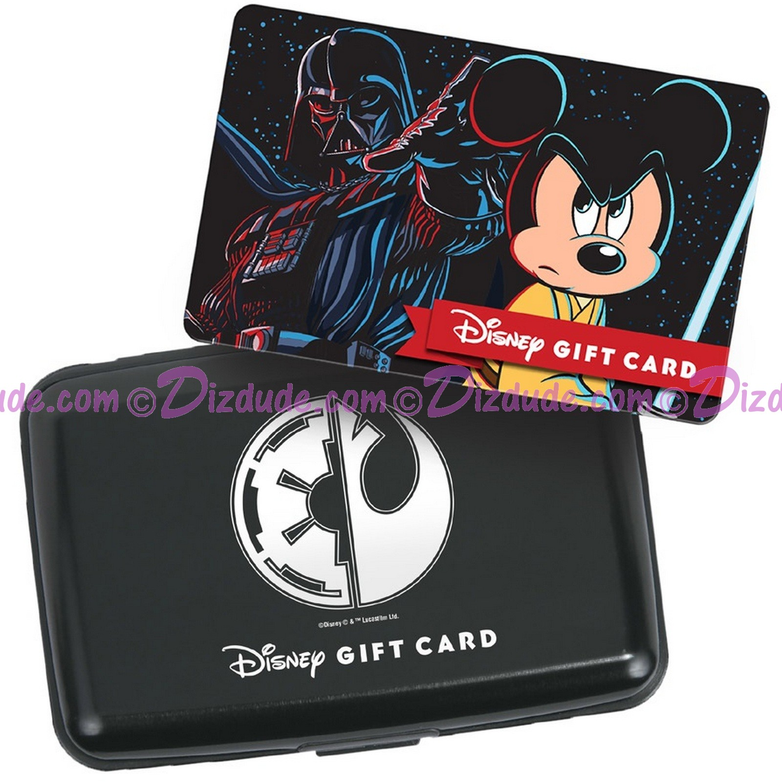 Star Wars Galactic Gathering Gift Card with Case Limited Edition ~ Disney Galactic Gathering Star Wars Weekends 2015 Event © Dizdude.com