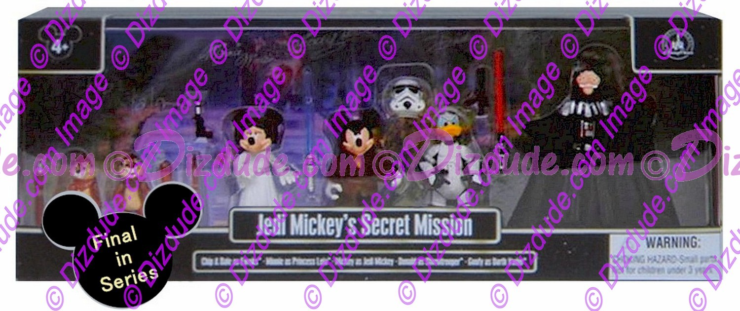 """Jedi Mickey's Secret Mission"" Disney's Star Wars /Star Tours Exclusive Multi-Pack Action Figures ~ Star Wars Weekends 2015 © Dizdude.com"