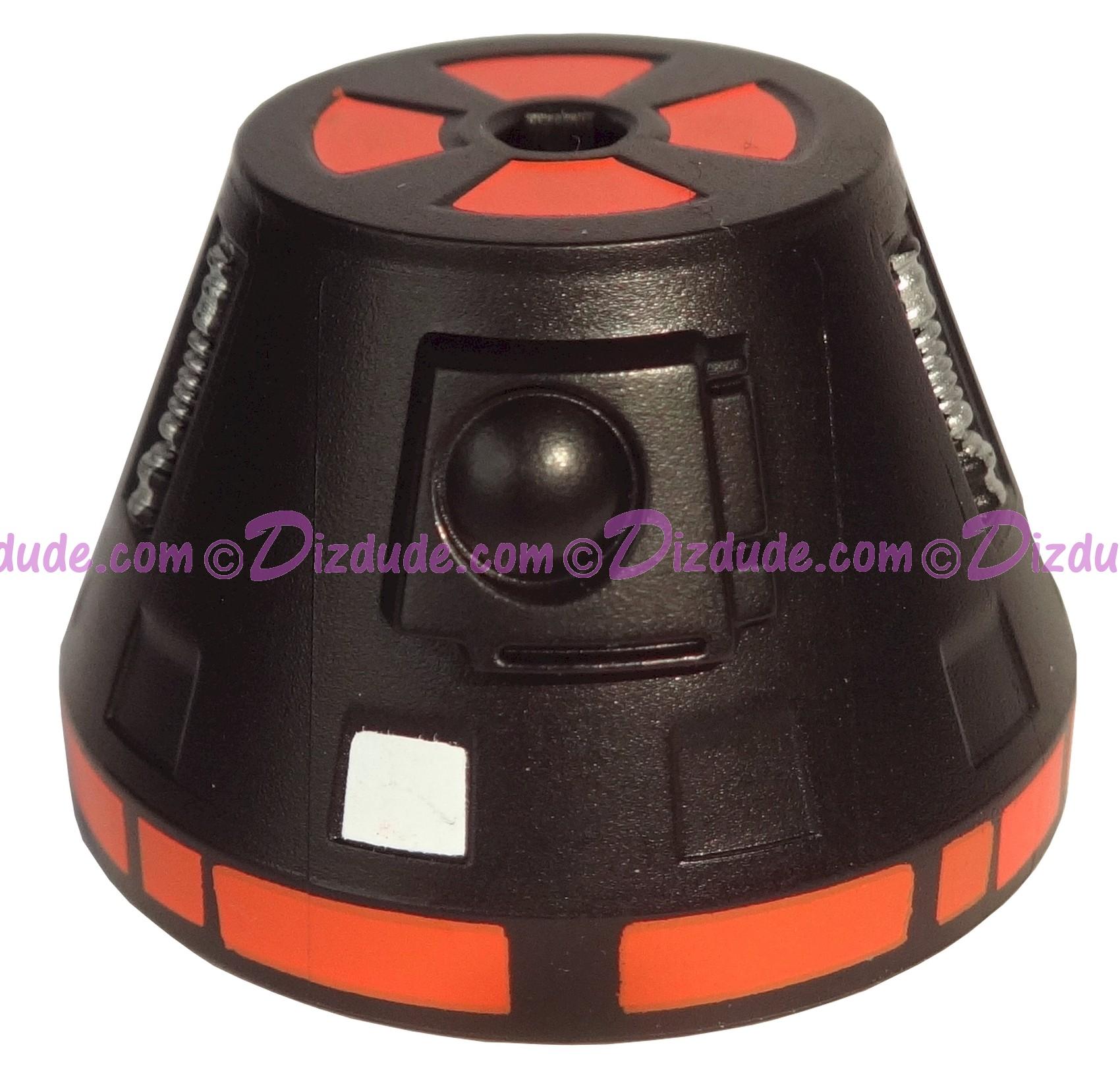 R0 Black Astromech Droid Dome ~ Series 2 from Disney Star Wars Build-A-Droid Factory © Dizdude.com