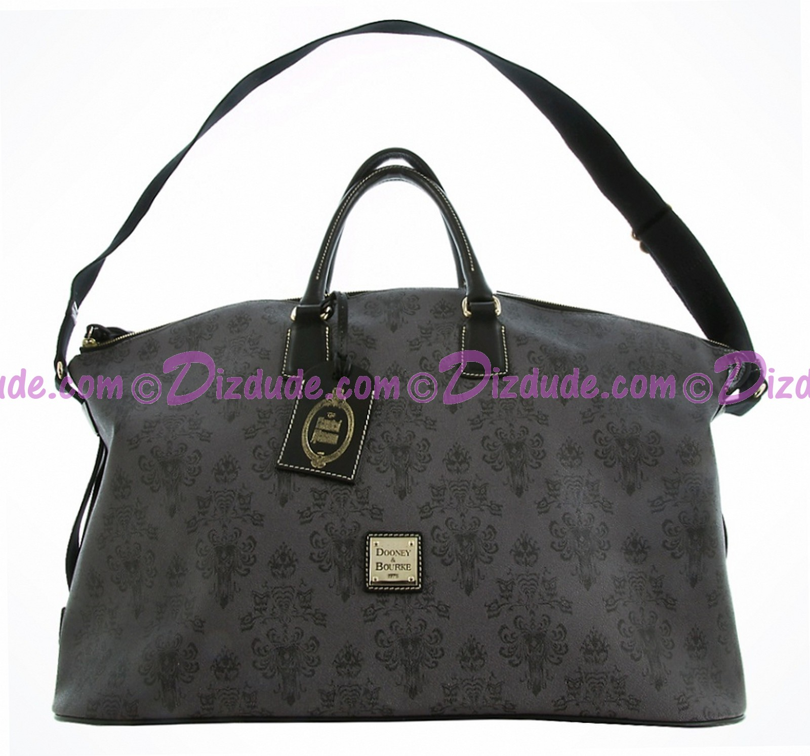 Dooney & Bourke - Disney Haunted Mansion Wallpaper Weekender Duffle Bag © Dizdude.com